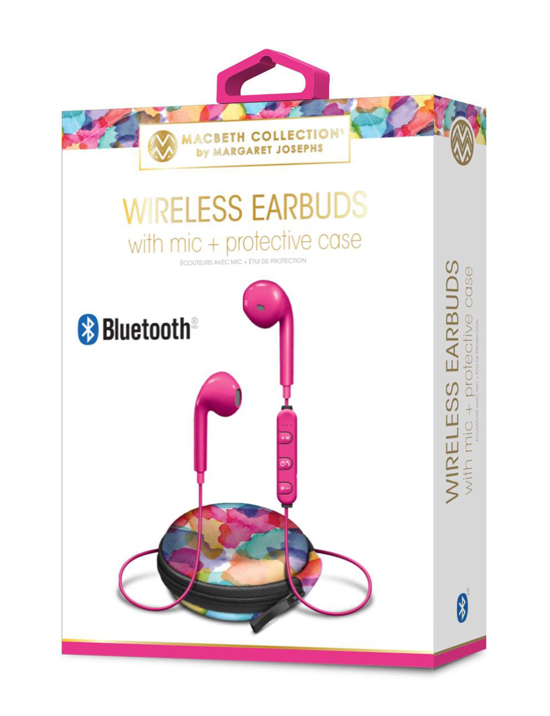 iWorld Hot Pink Headphones Tech Accessories