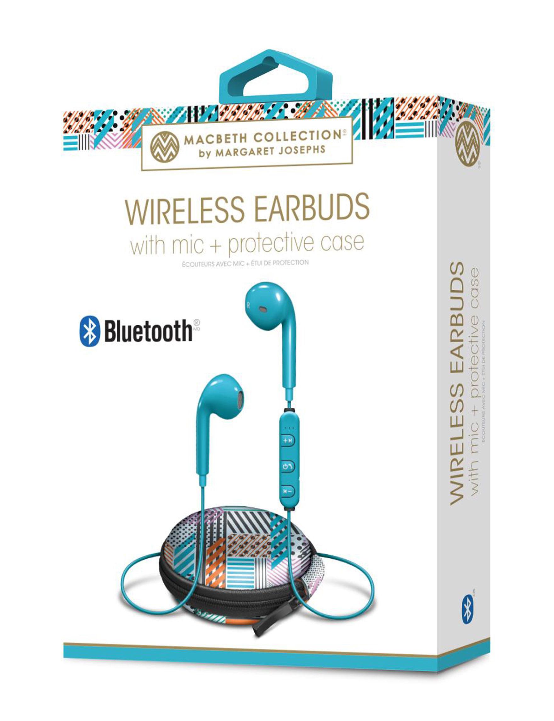 iWorld Turquoise Headphones Tech Accessories