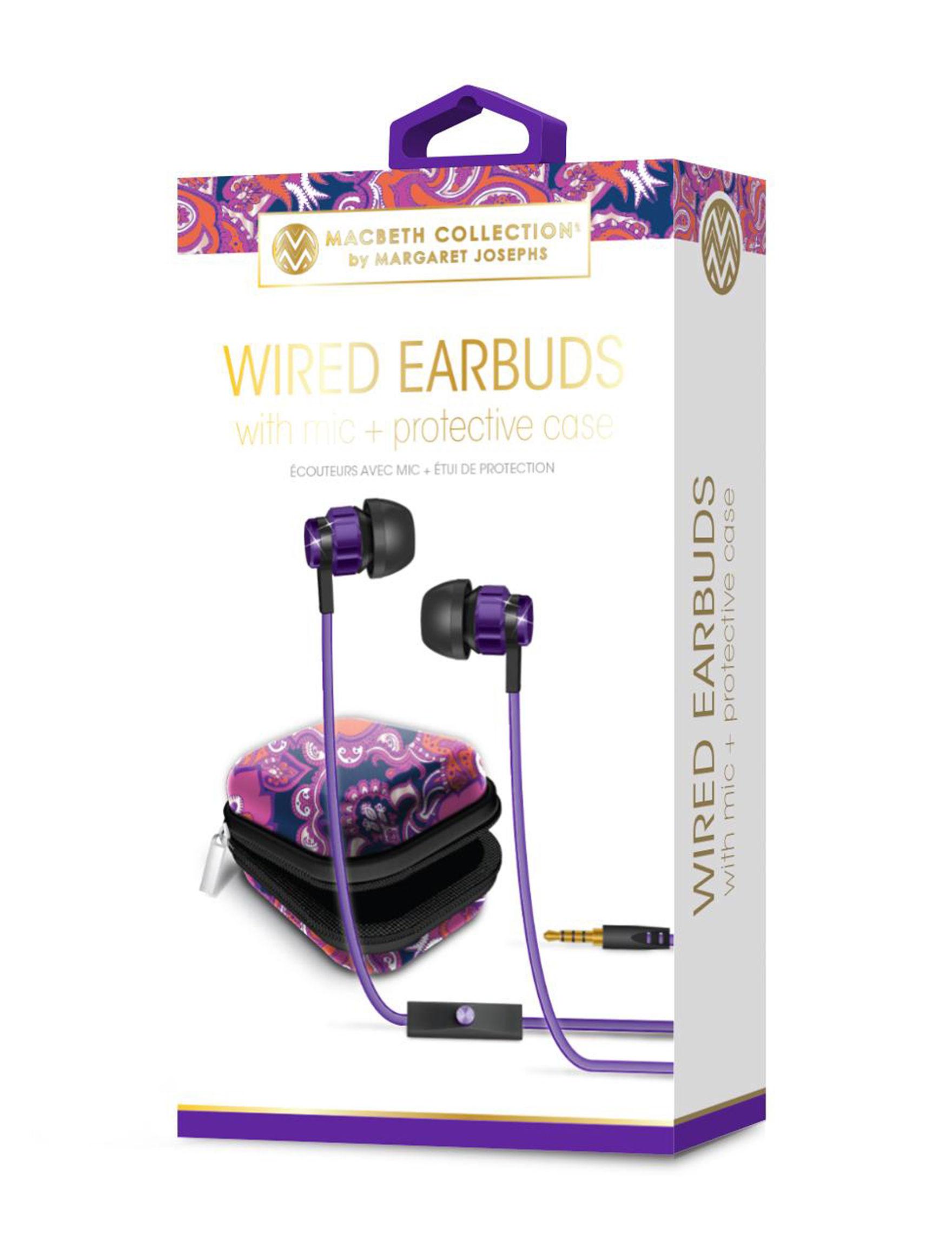 iWorld Purple Headphones Tech Accessories