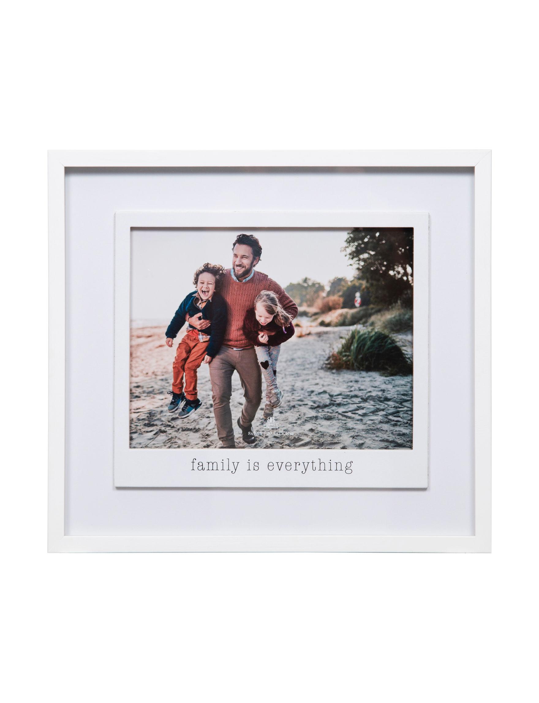 Nielsen White Frames & Shadow Boxes