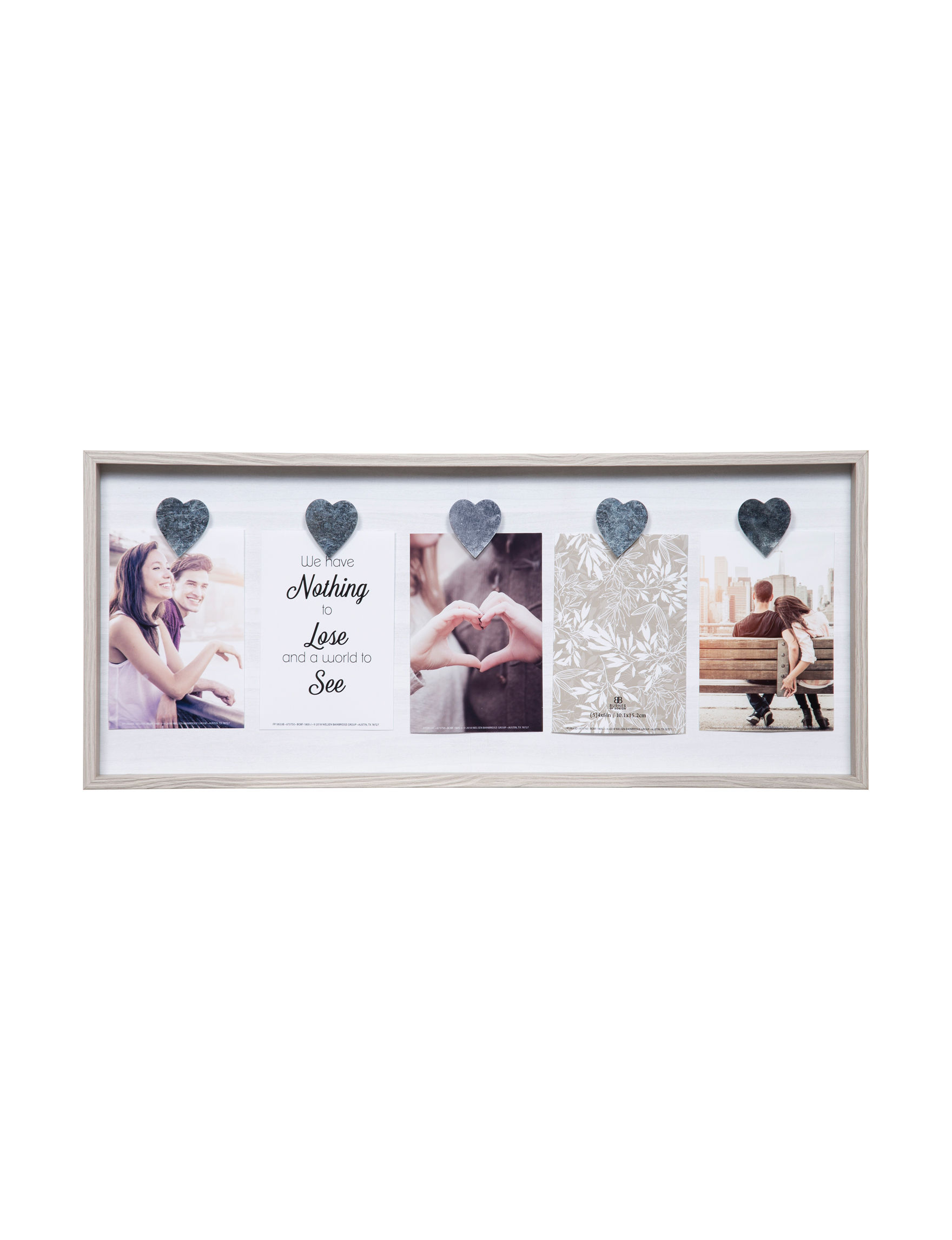 Nielsen Grey Multi Decorative Objects Frames & Shadow Boxes