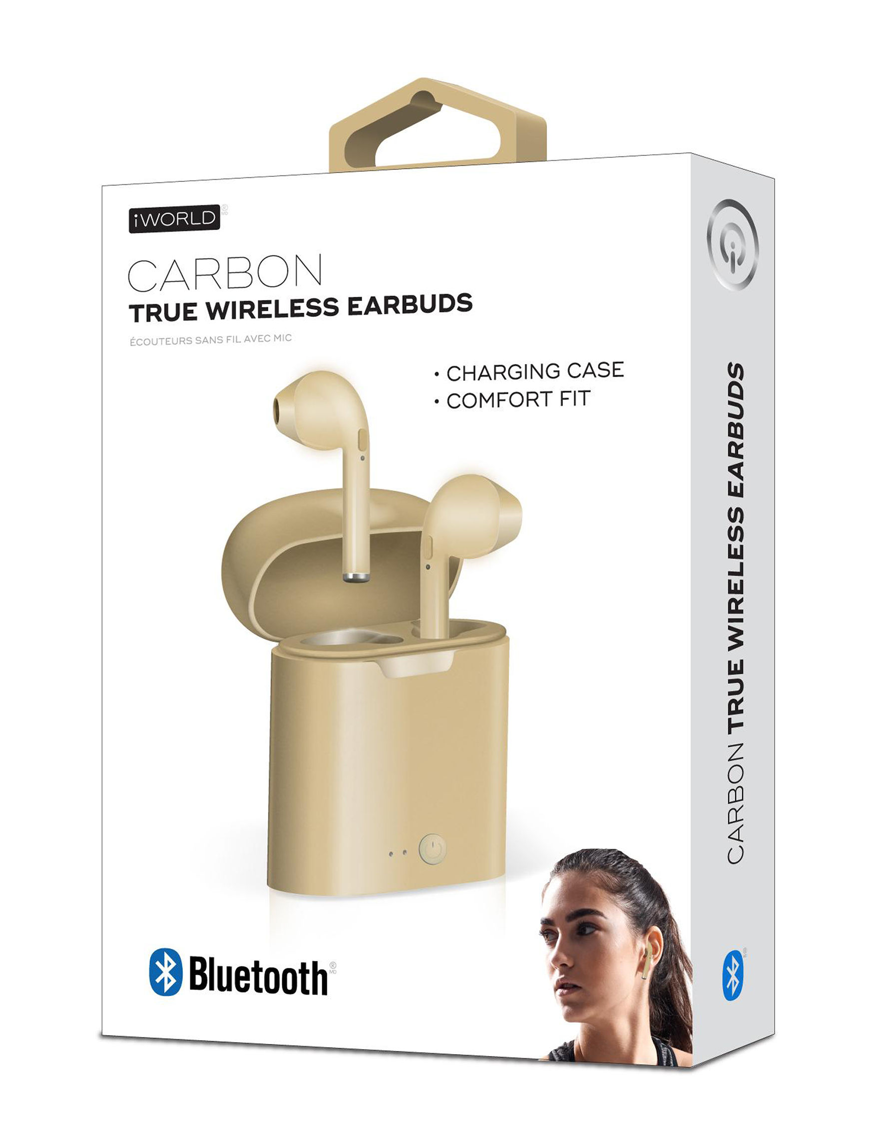 iWorld Gold Headphones Tech Accessories