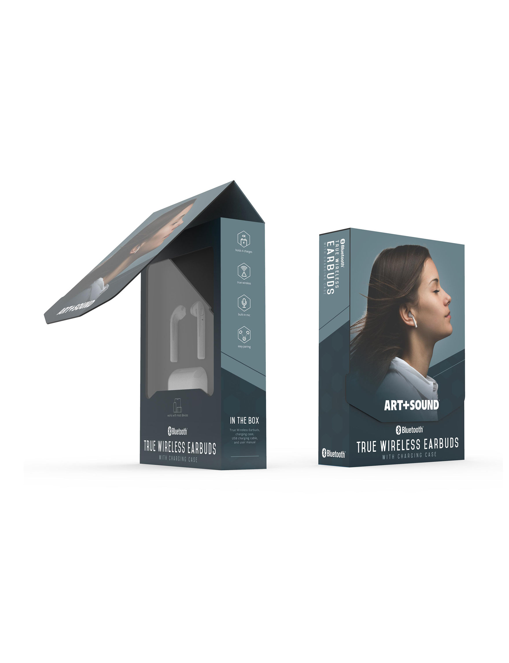 Art + Sound White Headphones Tech Accessories