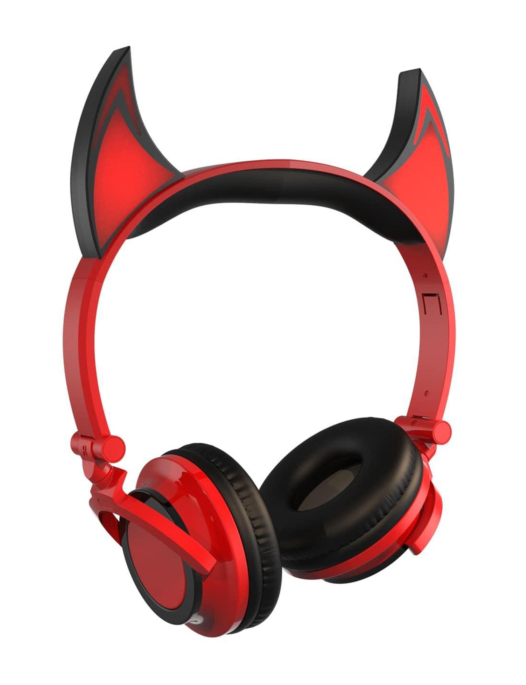 Art + Sound Red Headphones Tech Accessories