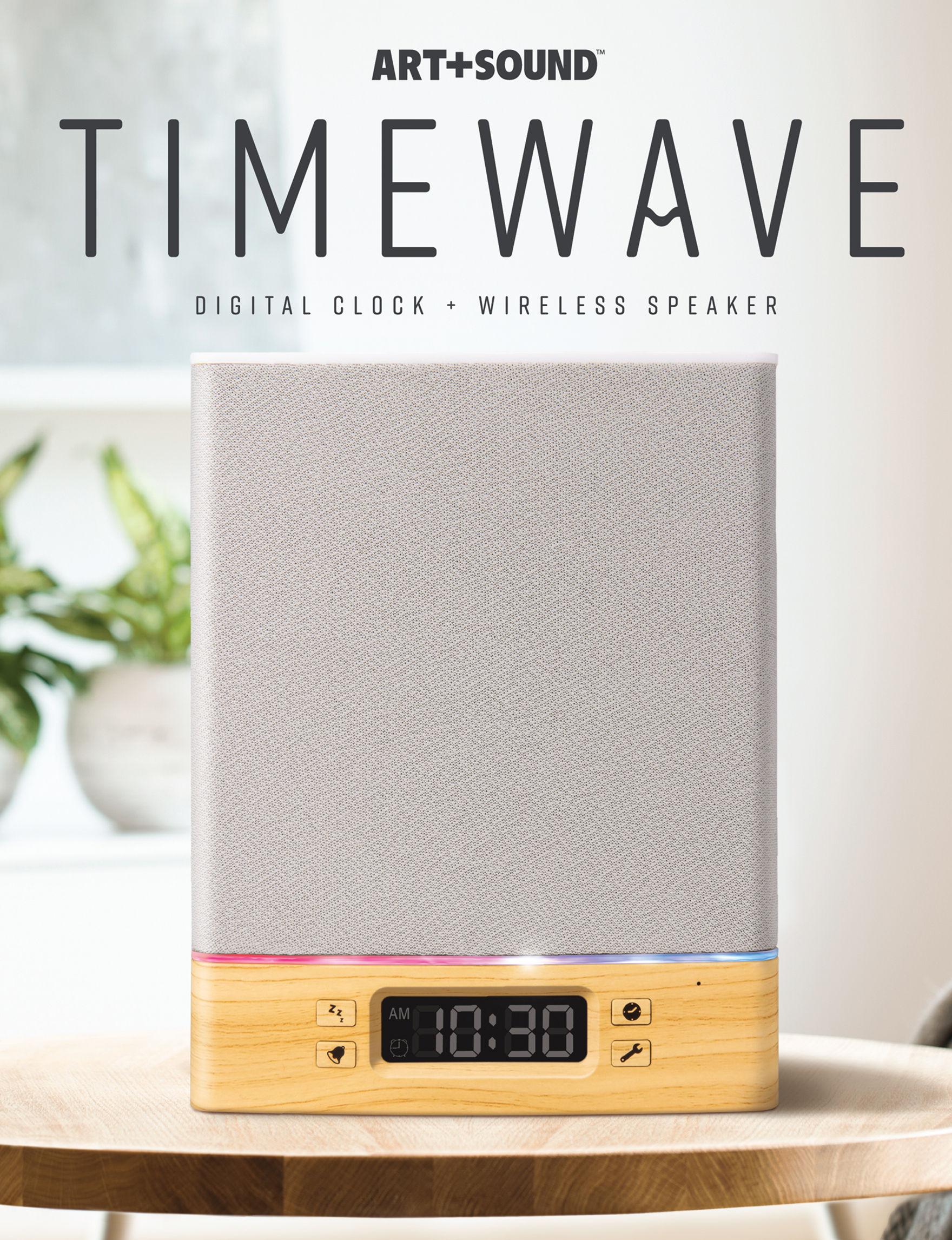 Art + Sound White / Gold Speakers & Docks Home & Portable Audio