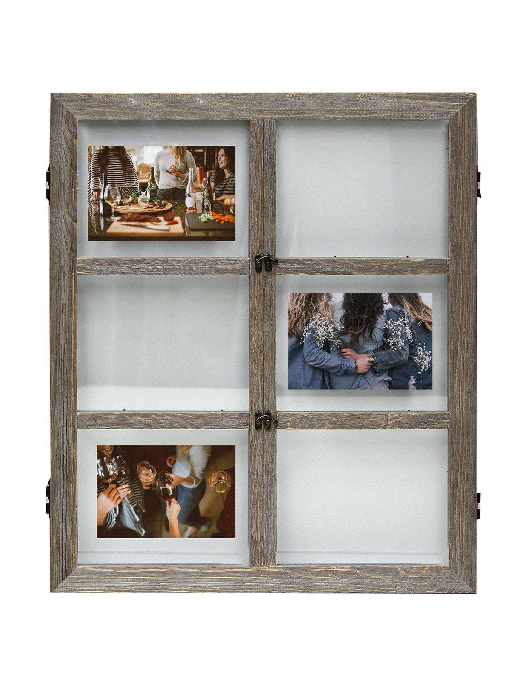 BP Industries Grey Frames & Shadow Boxes