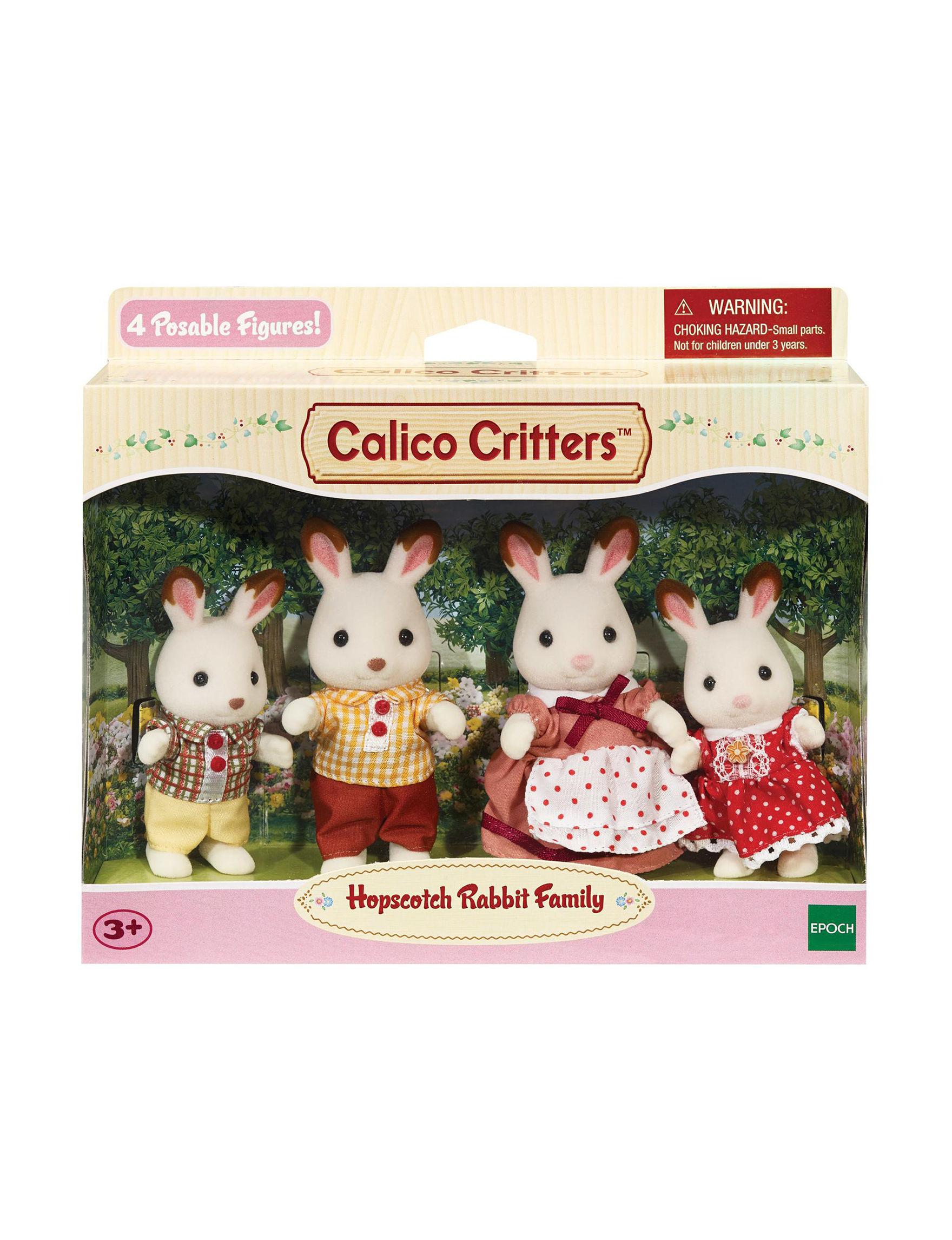 Calico Critters White / Multi