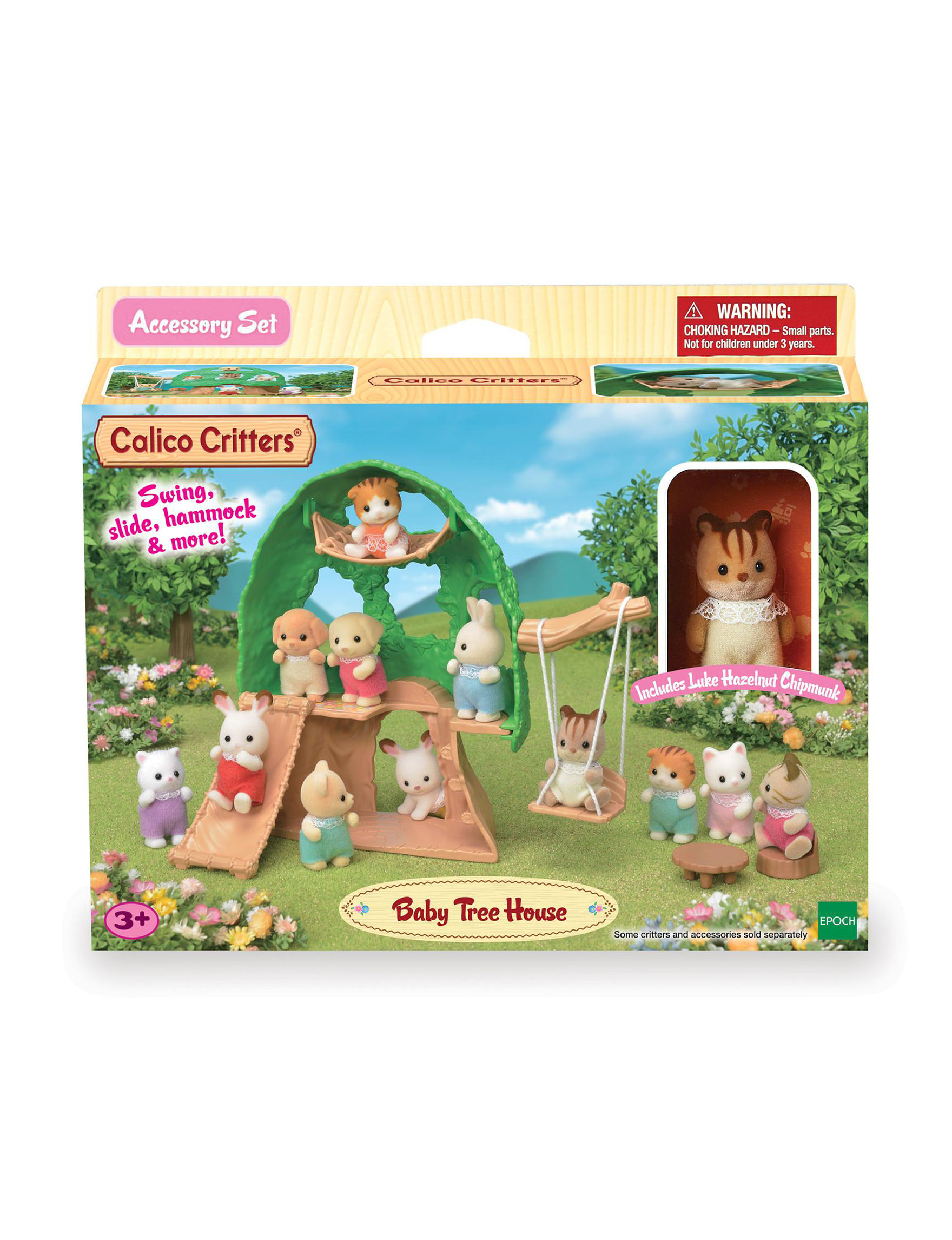 Calico Critters Green / Multi