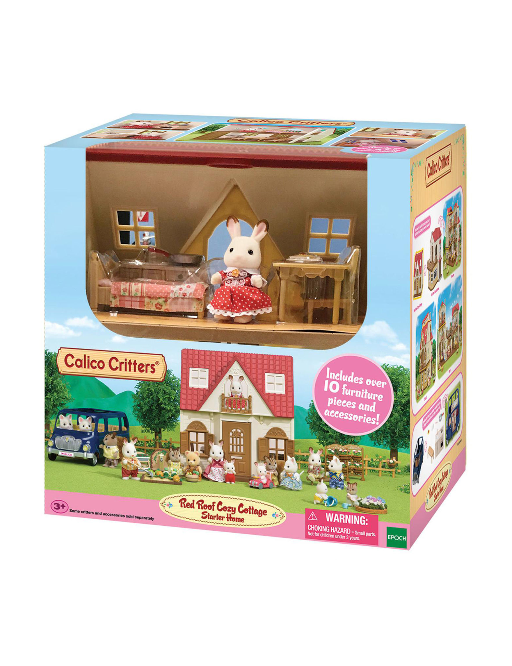 Calico Critters White / Multi