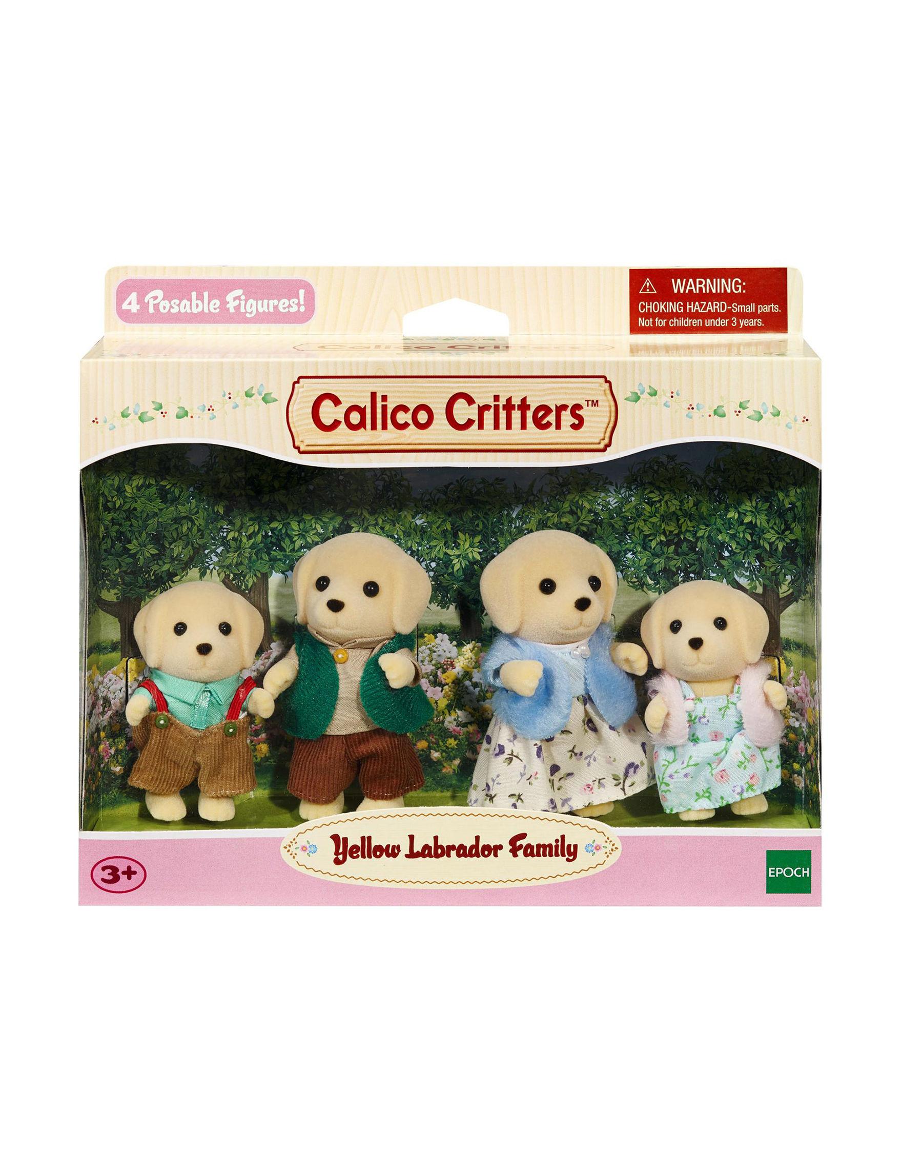 Calico Critters Beige / Multi
