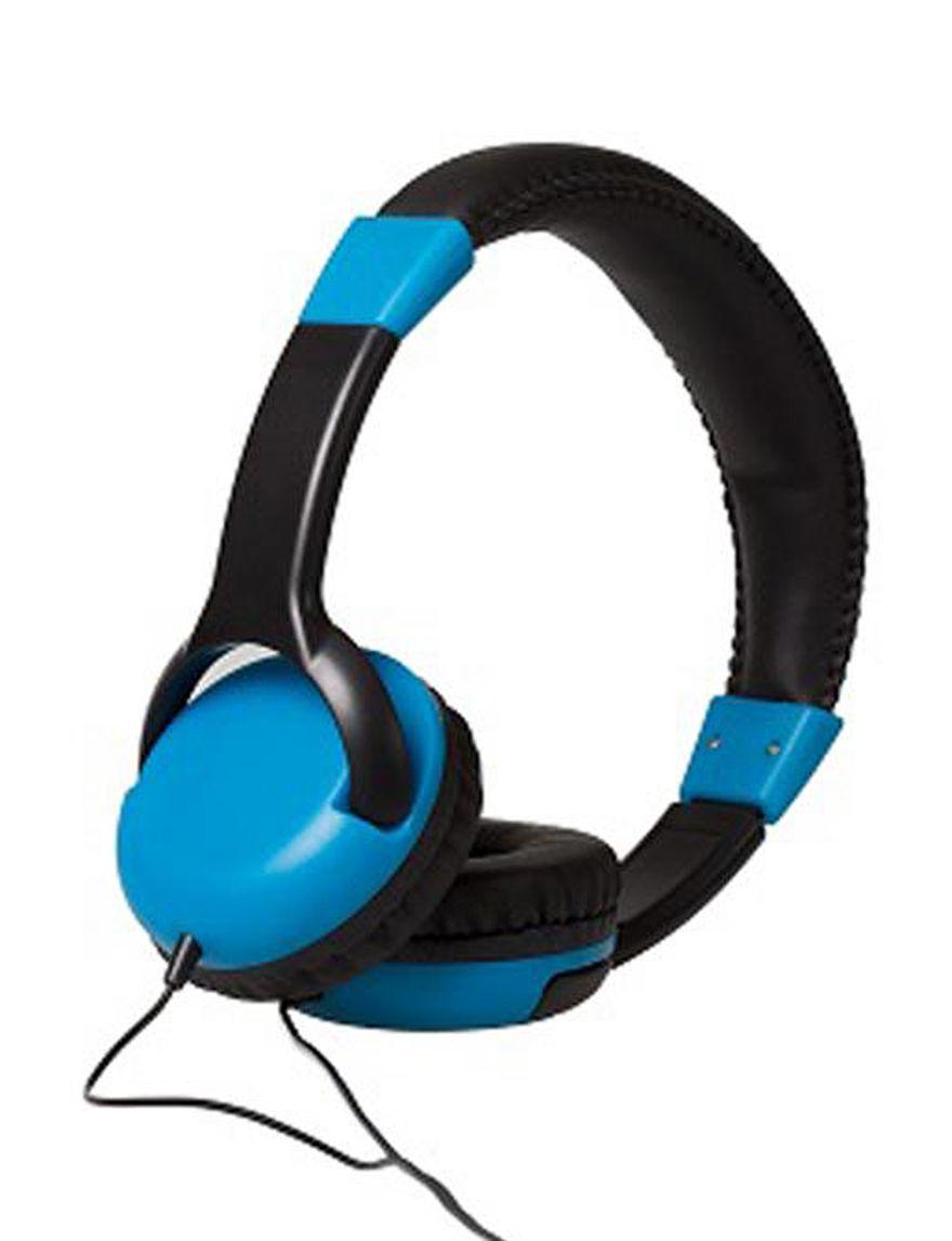 Gabba Goods Blue Headphones Tech Accessories