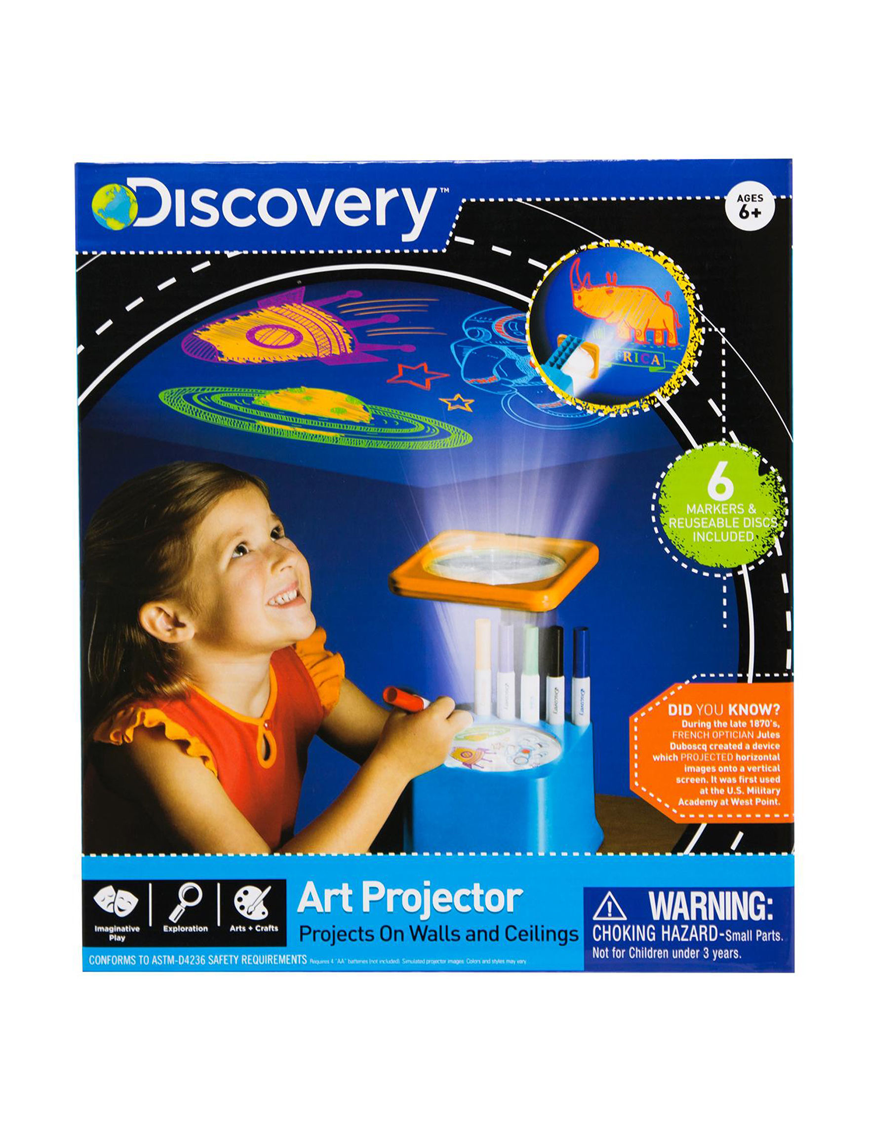Discovery Blue / Multi