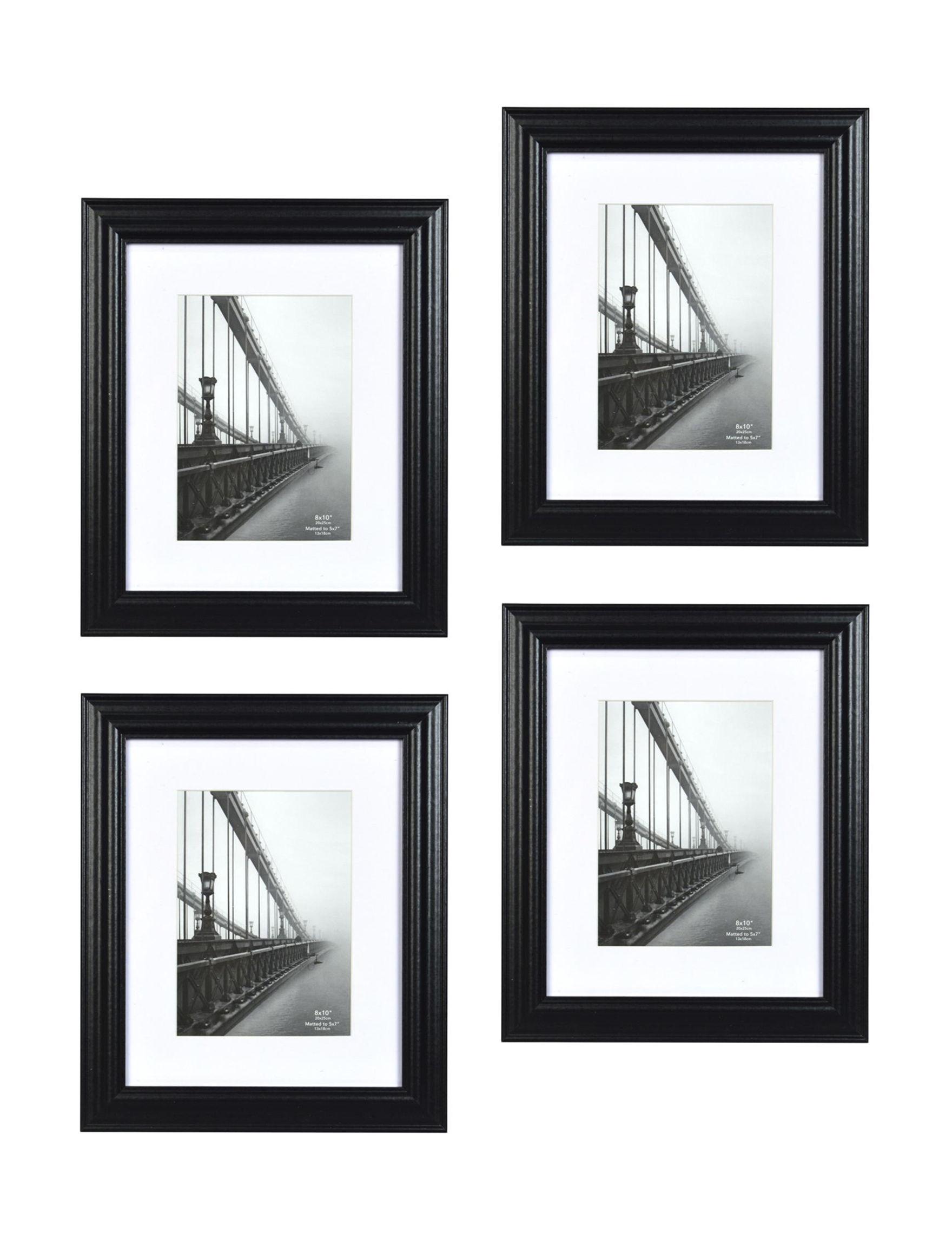 New View Black /  White Frames & Shadow Boxes