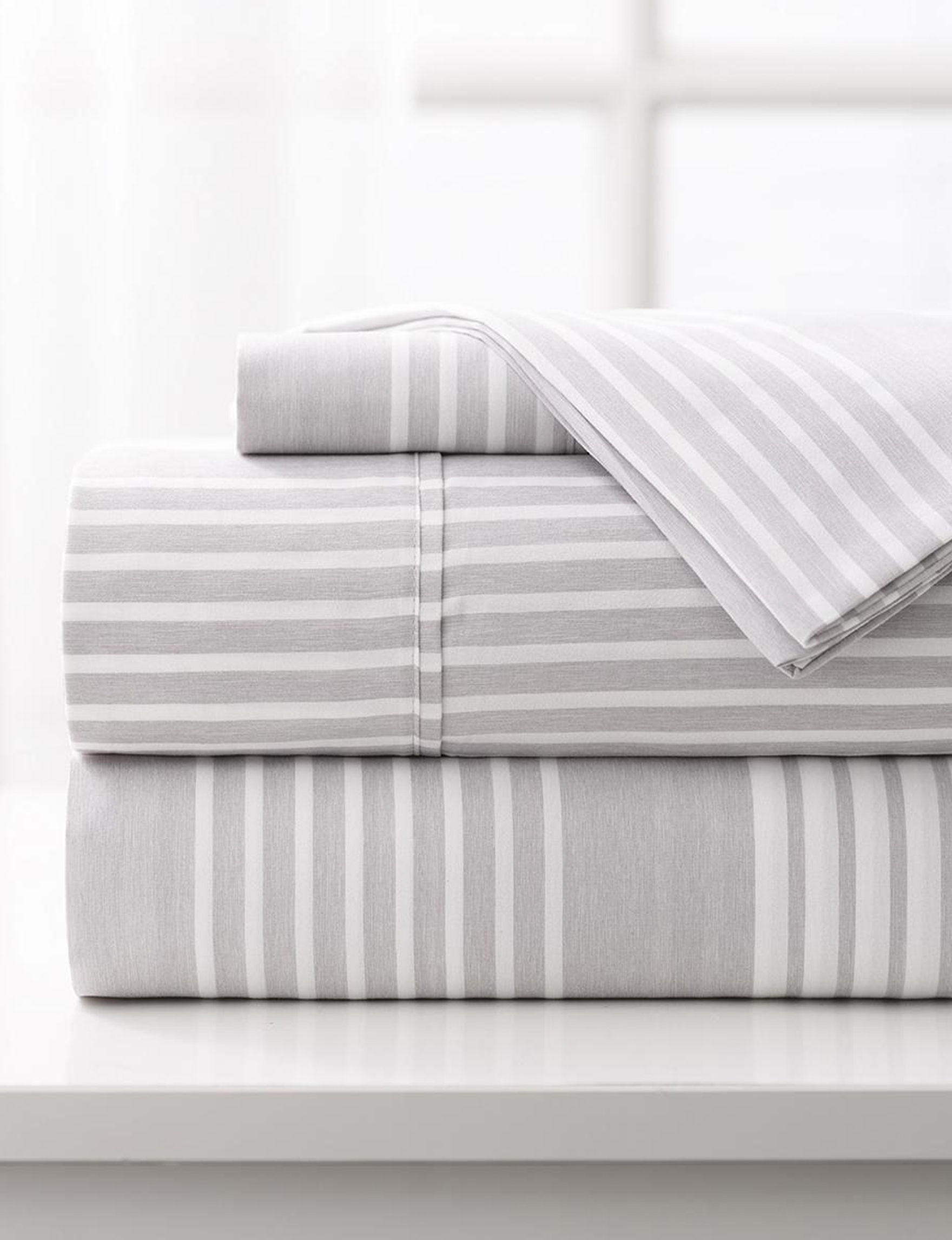 Mulberry Home Collection Light Grey Sheets