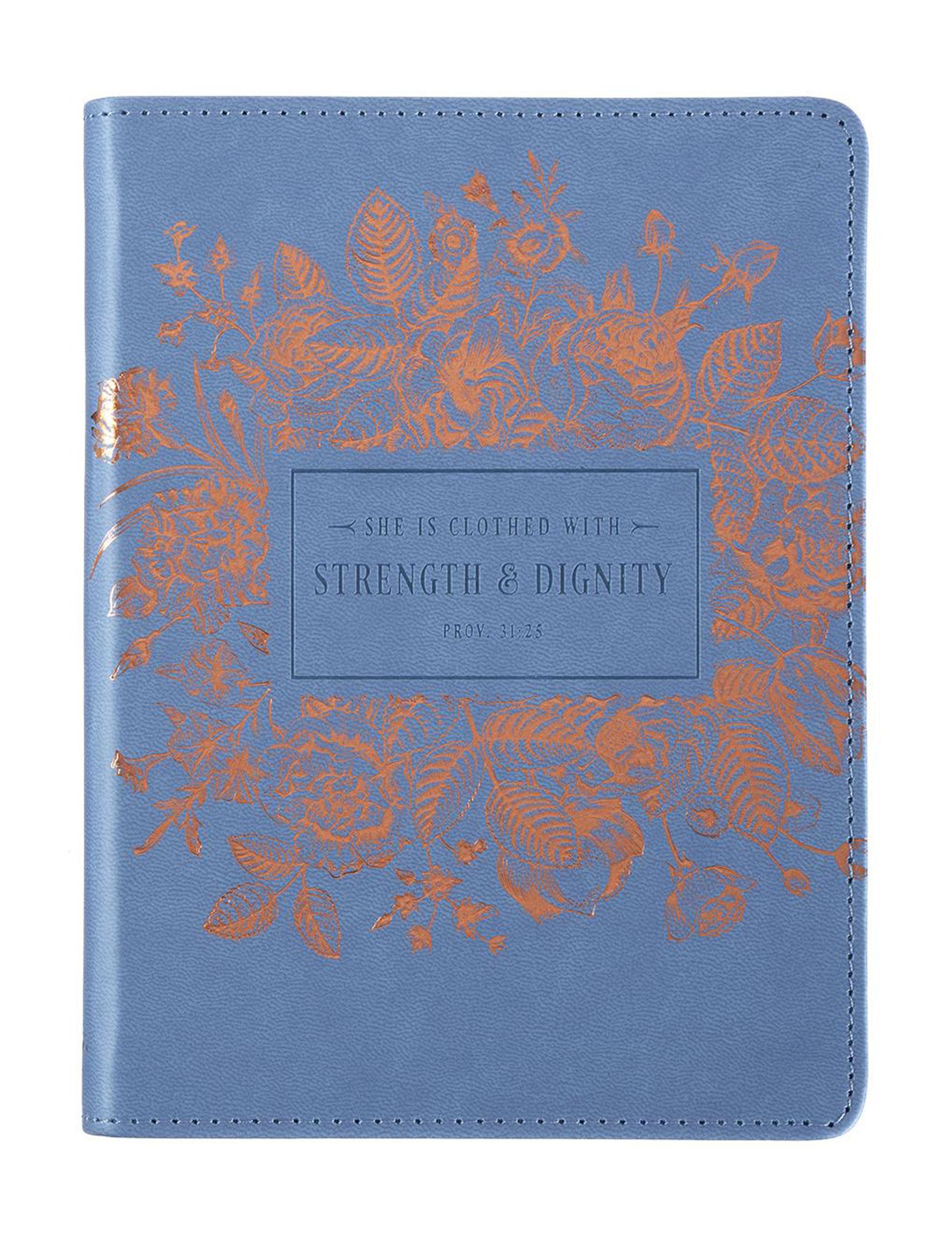 Christian Art Gifts Blue / Multi Journals & Notepads School & Office Supplies