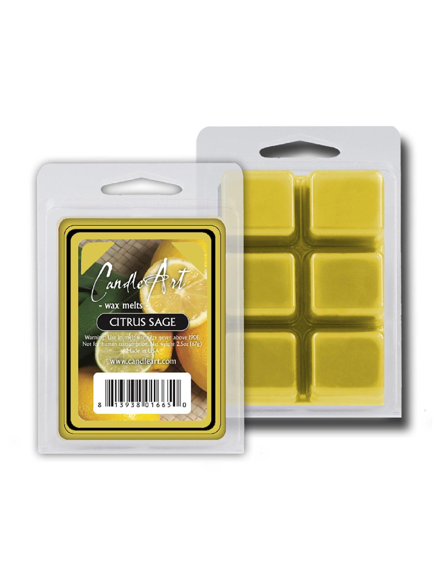 CandleArts Candles Yellow Wax Melts & Oils Candles & Diffusers