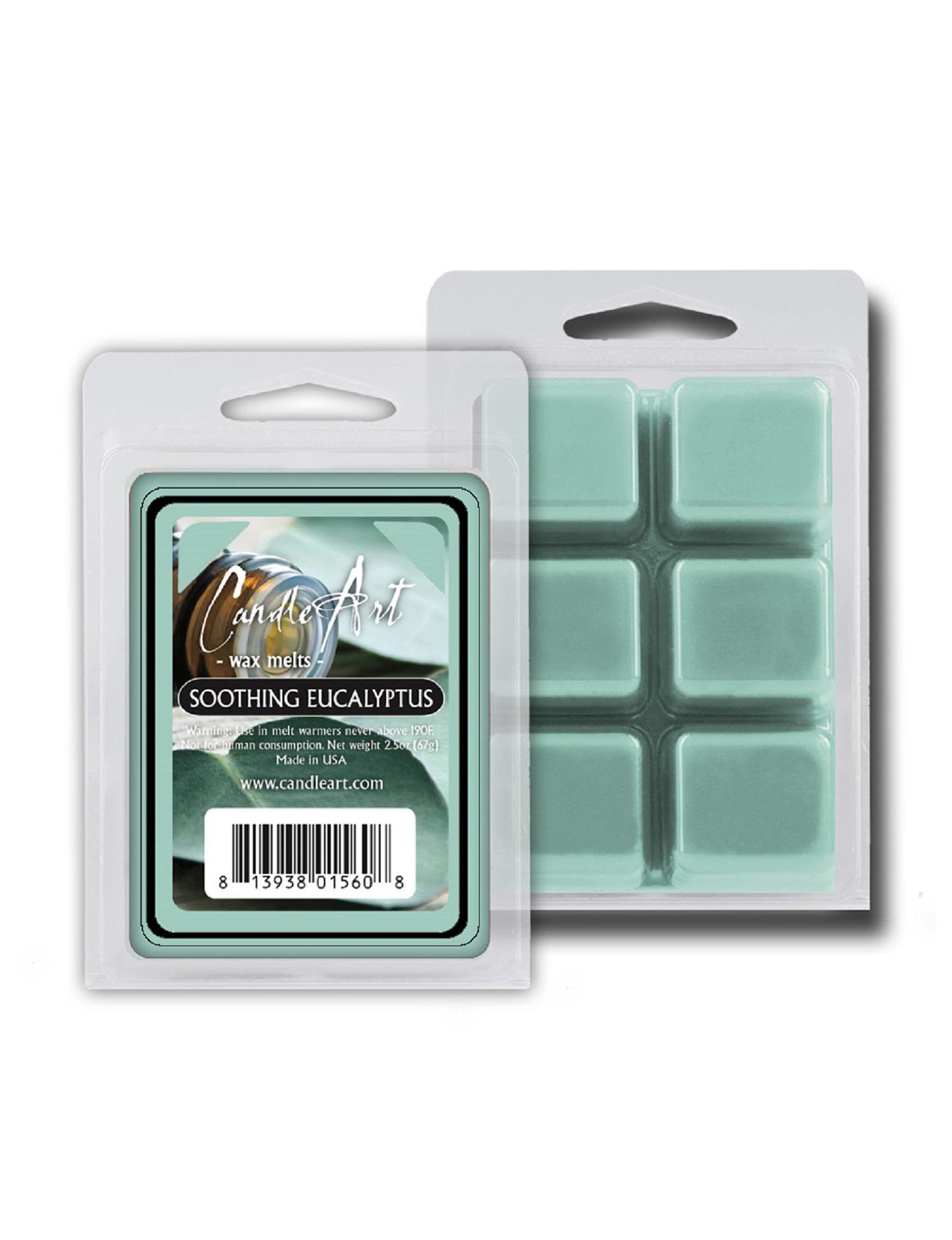 CandleArts Candles Blue Wax Melts & Oils Candles & Diffusers