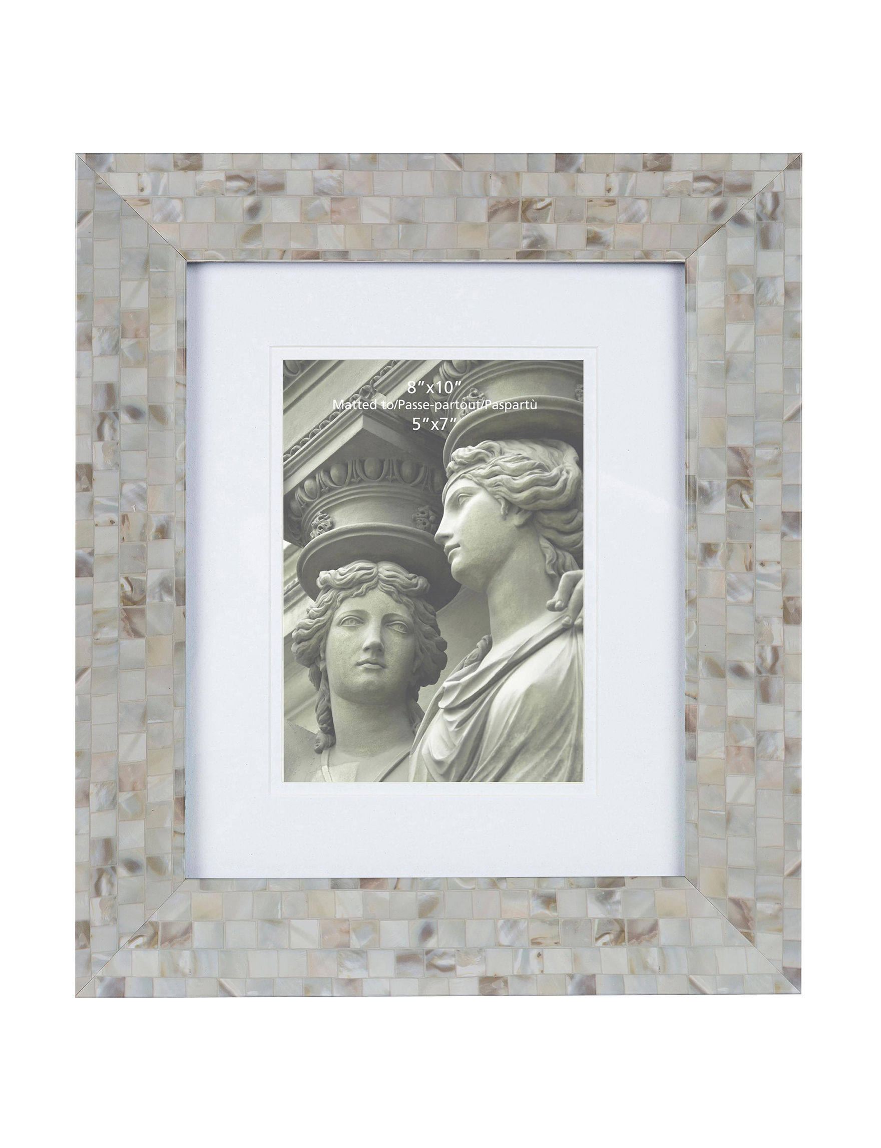 Columbia Frames Mother of Pearl Frames & Shadow Boxes