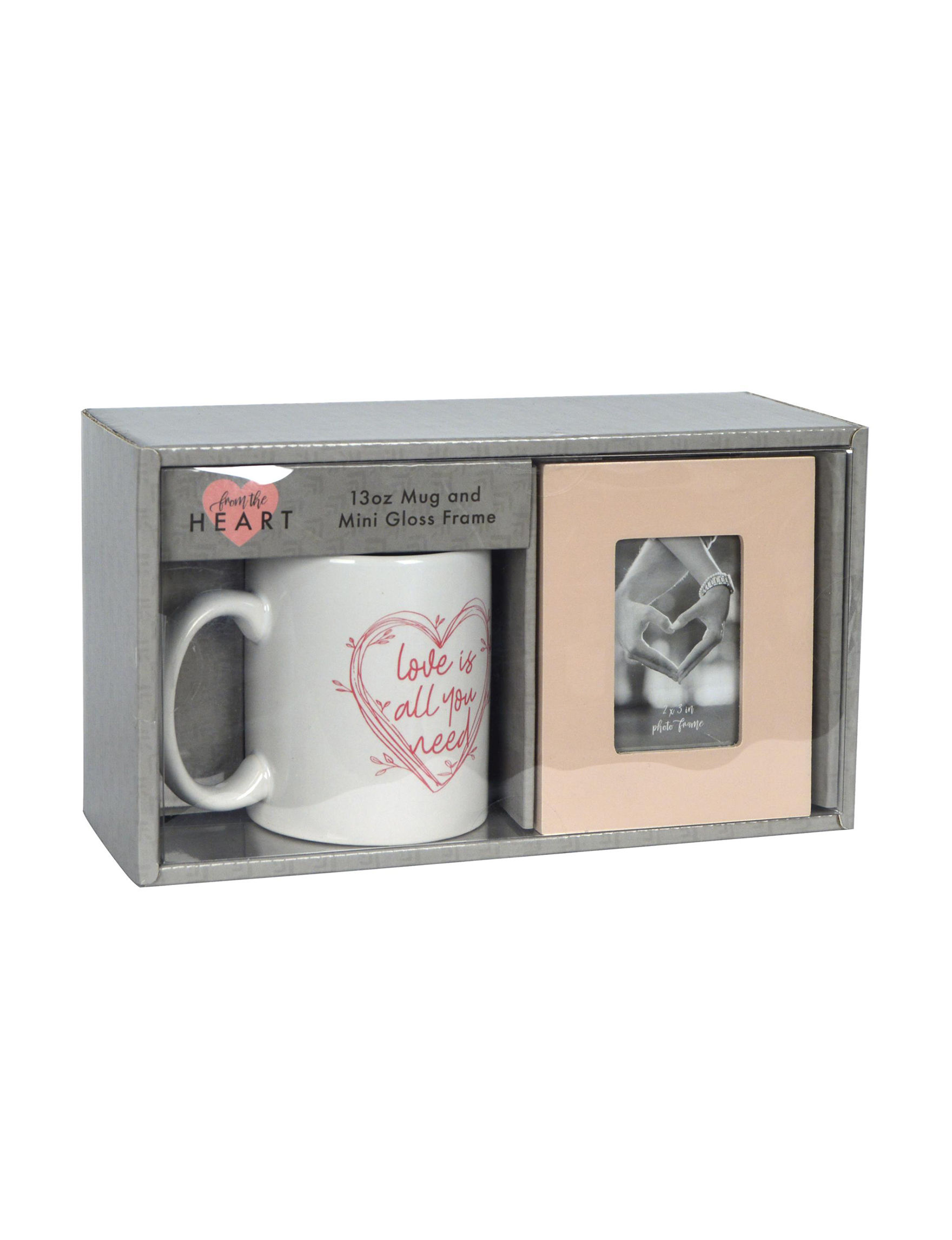 New View Grey / Multi Mugs Drinkware Frames & Shadow Boxes