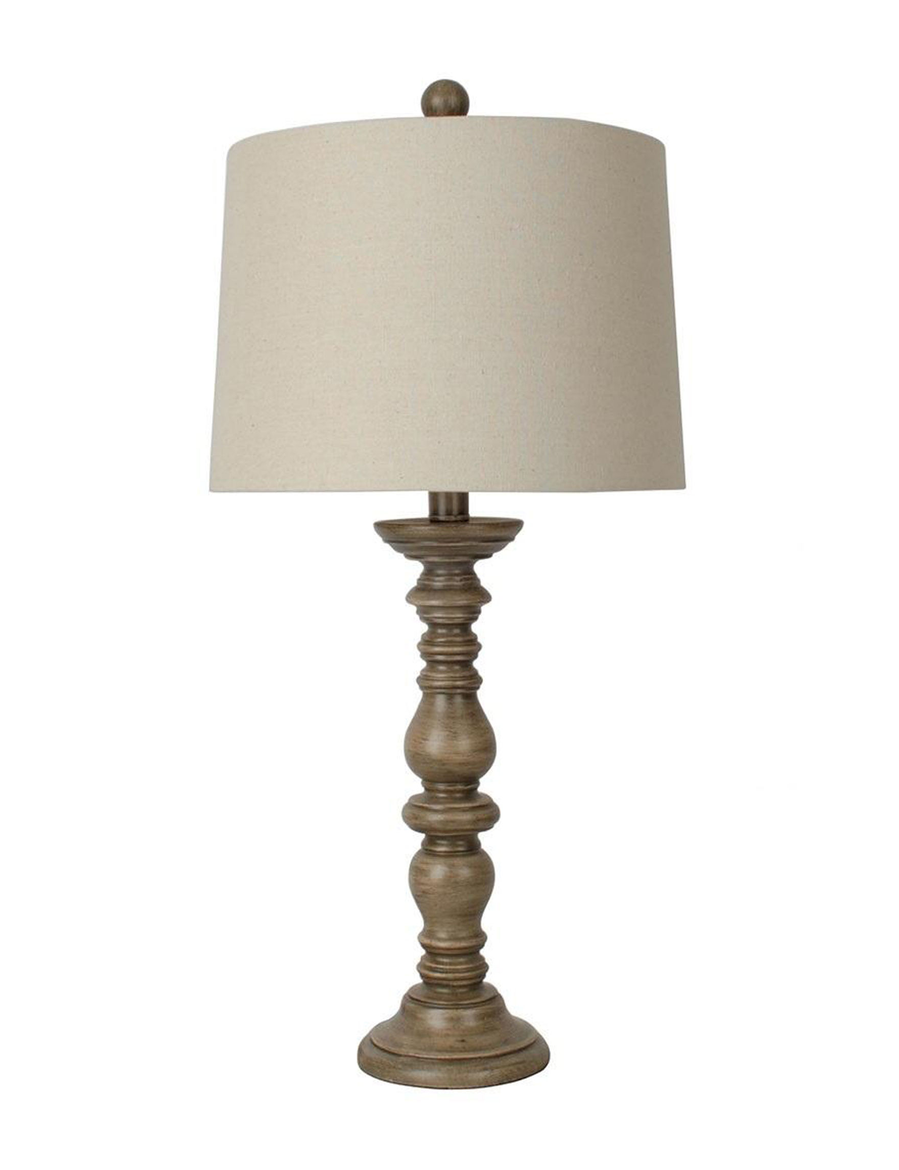 Jimco Lamp & Manufacturing Beige Table Lamps Lighting & Lamps
