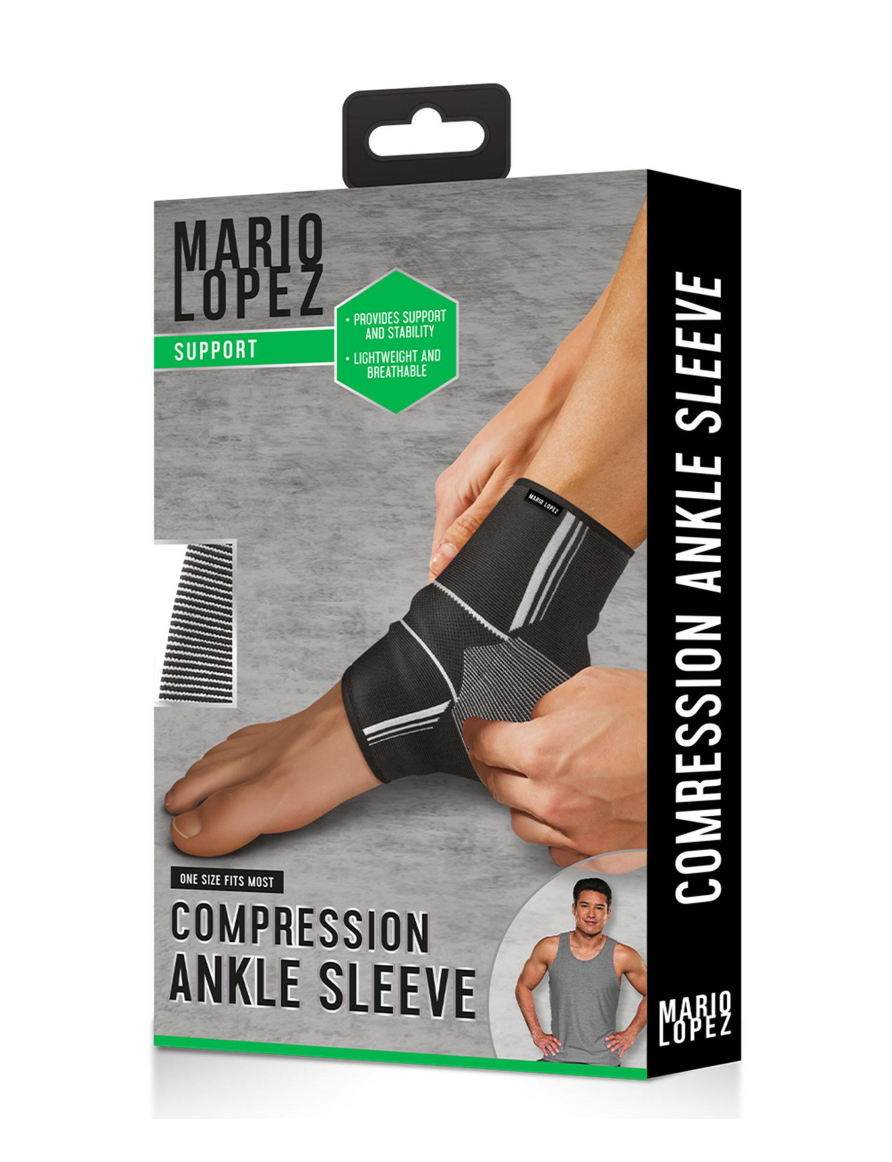 Mario Lopez Black /  White Fitness Equipment