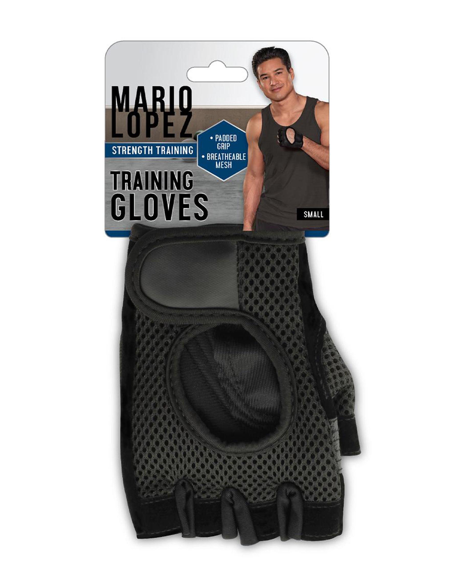Mario Lopez Black Fitness Equipment