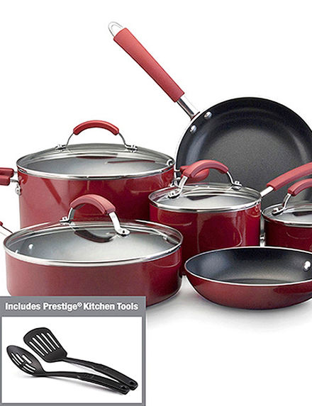 Farberware Red Cookware Sets Cookware