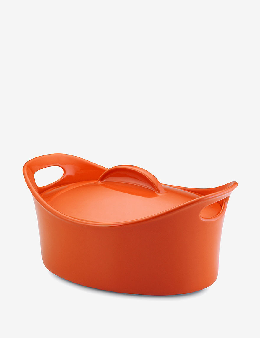 Rachael Ray Orange Baking & Casserole Dishes Bakeware Cookware