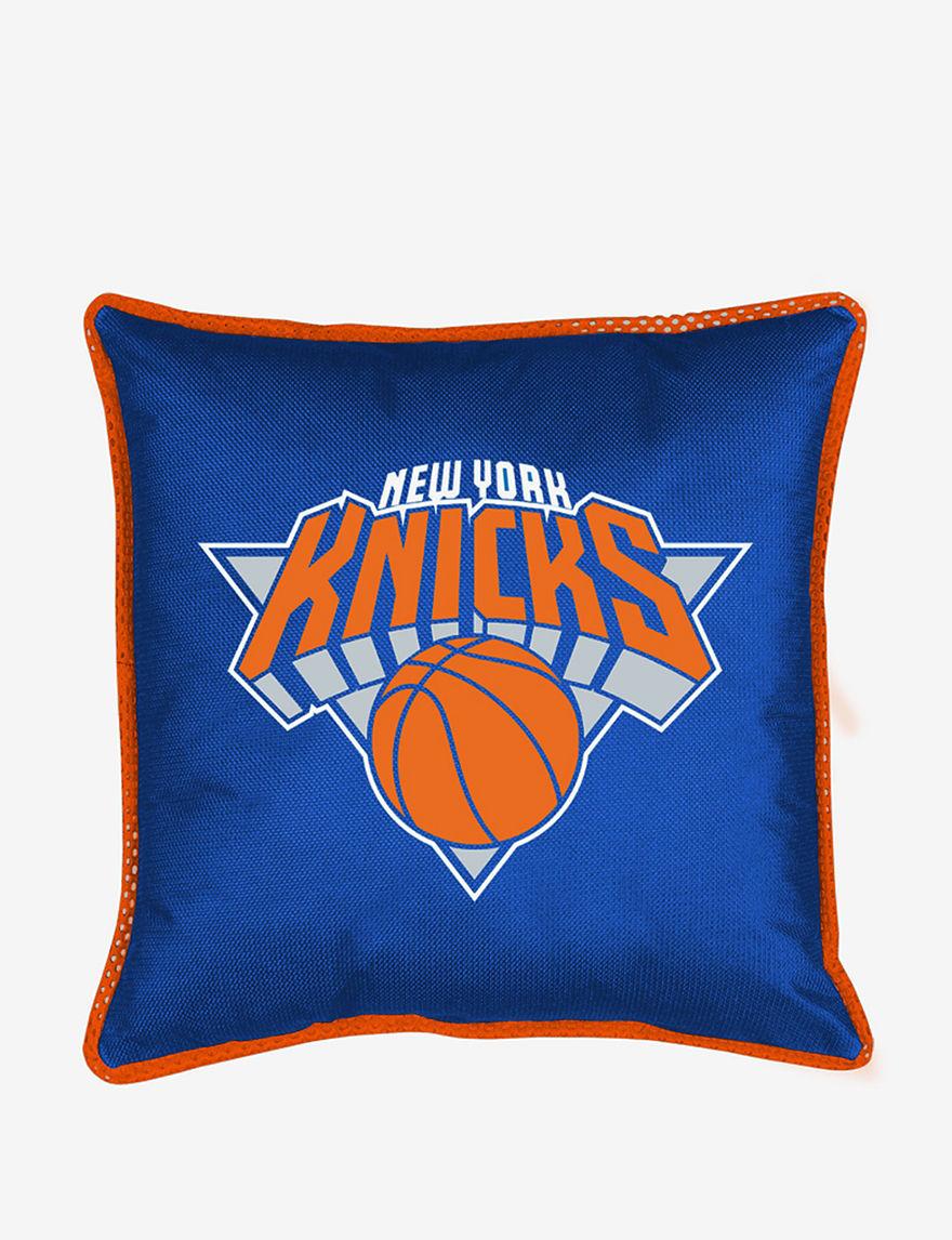 Sports Coverage Light Blue Decorative Pillows