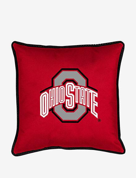 Sports Coverage Bright Red Decorative Pillows