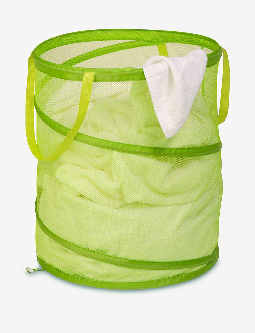 Honey-Can-Do International Lime Laundry Hampers