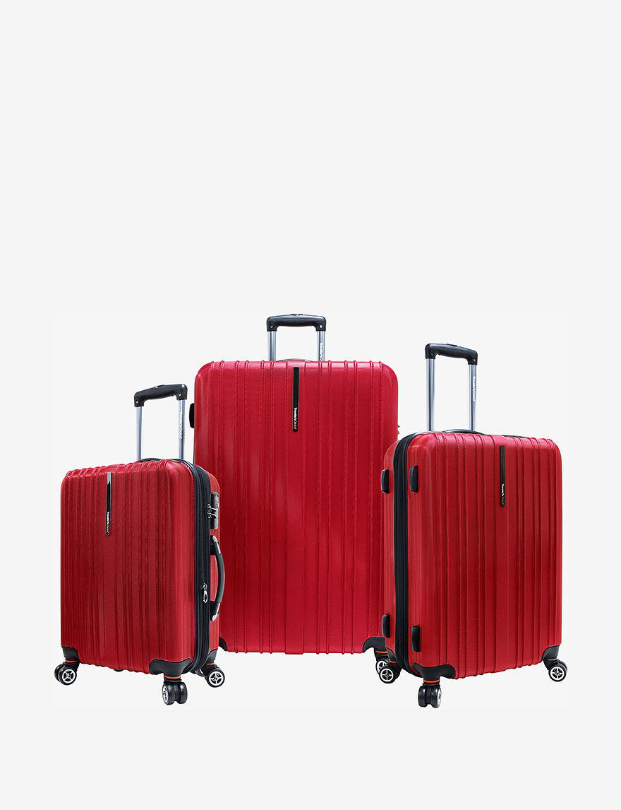 Bright Red Luggage Sets