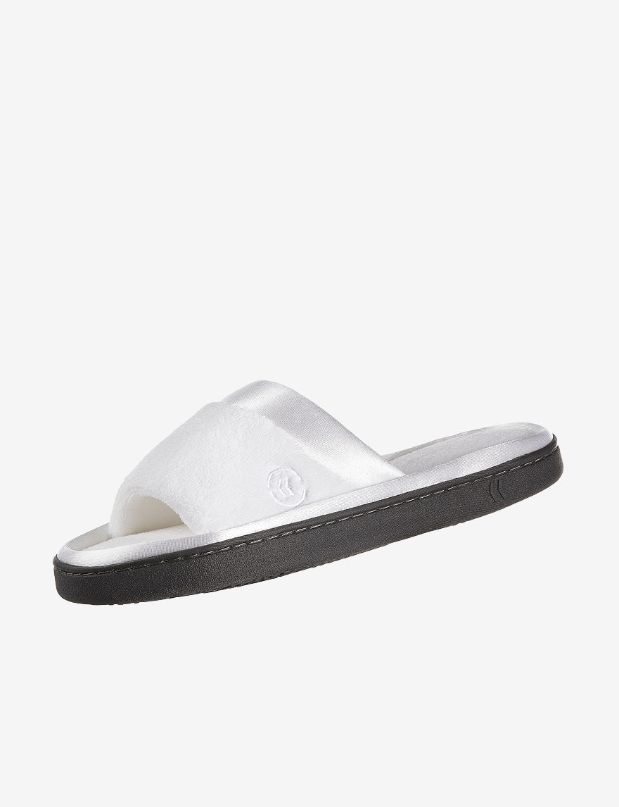 Isotoner White Slipper Shoes