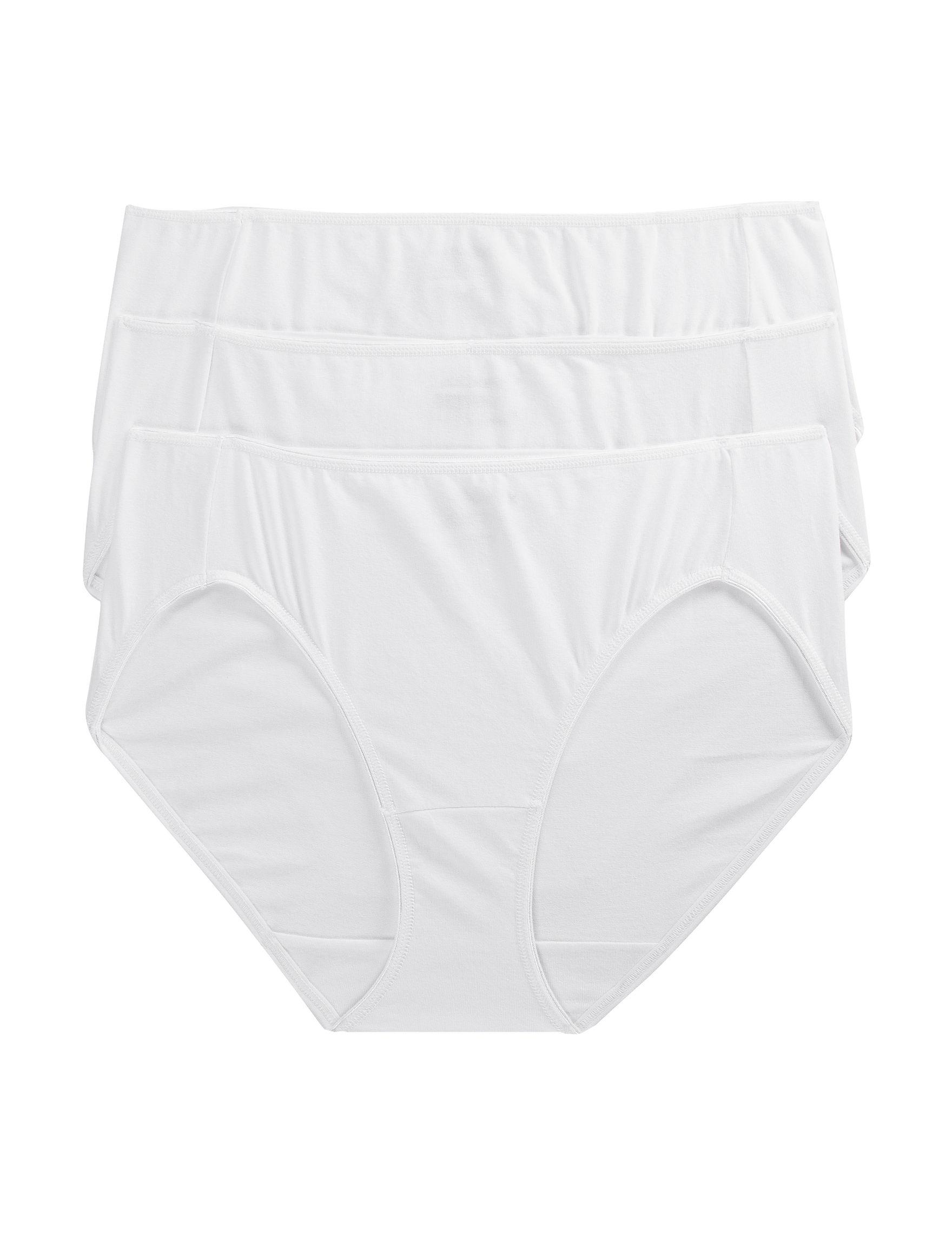 Jockey White Panties Bikini