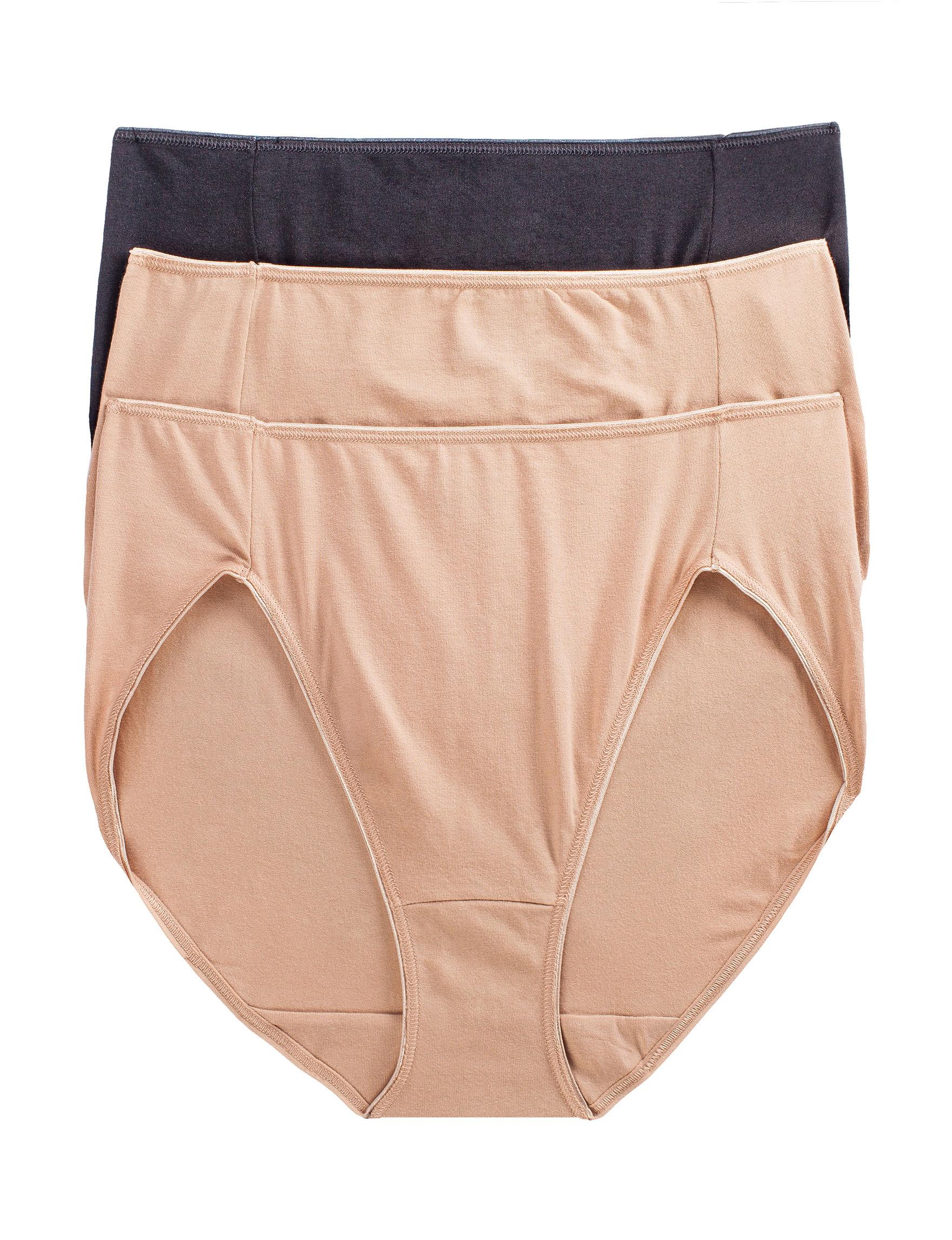 Jockey Tan Multi Panties High Cut