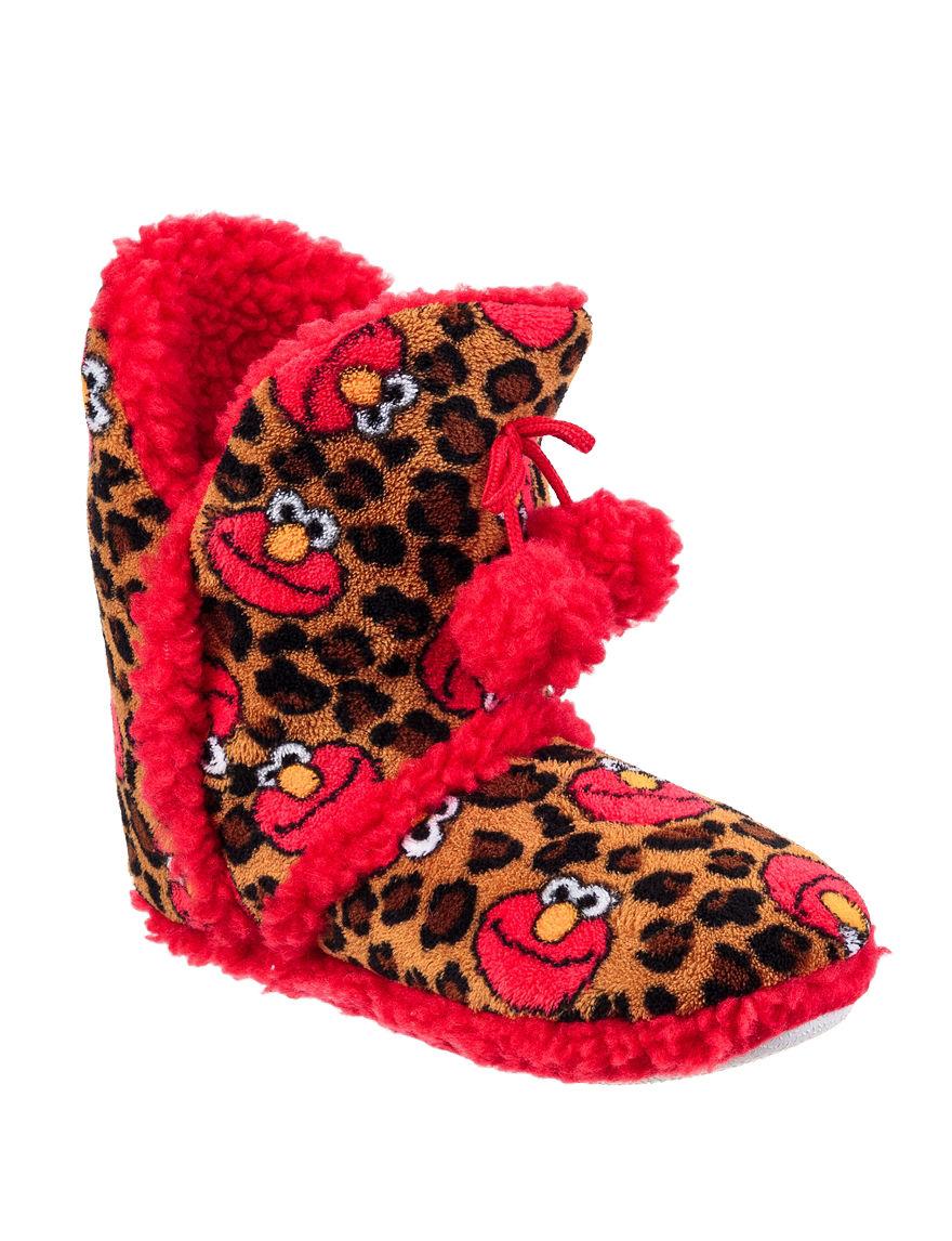 Sesame Street Multi Slipper Boots & Booties