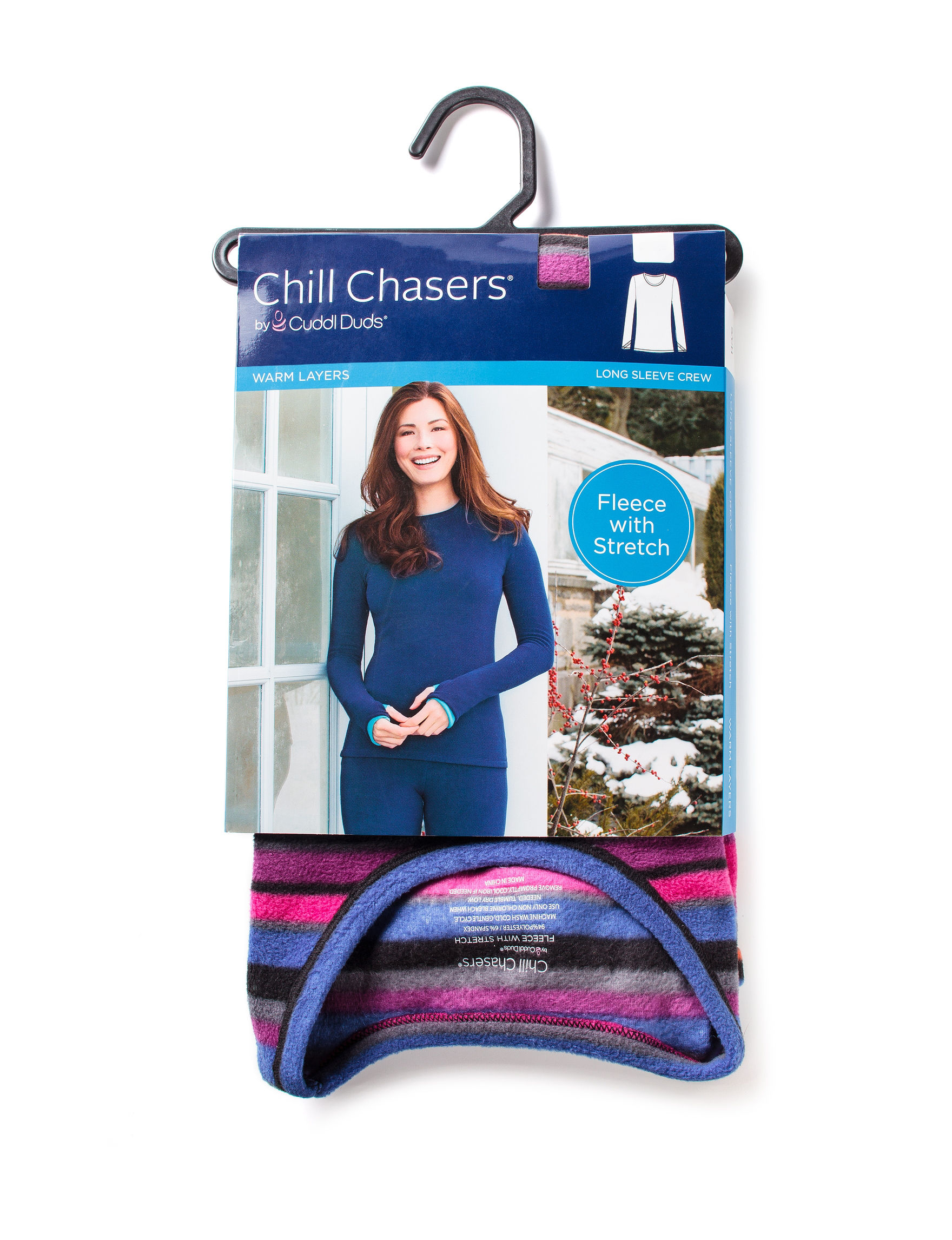 Chill Chasers Blue Multi Long Underwear