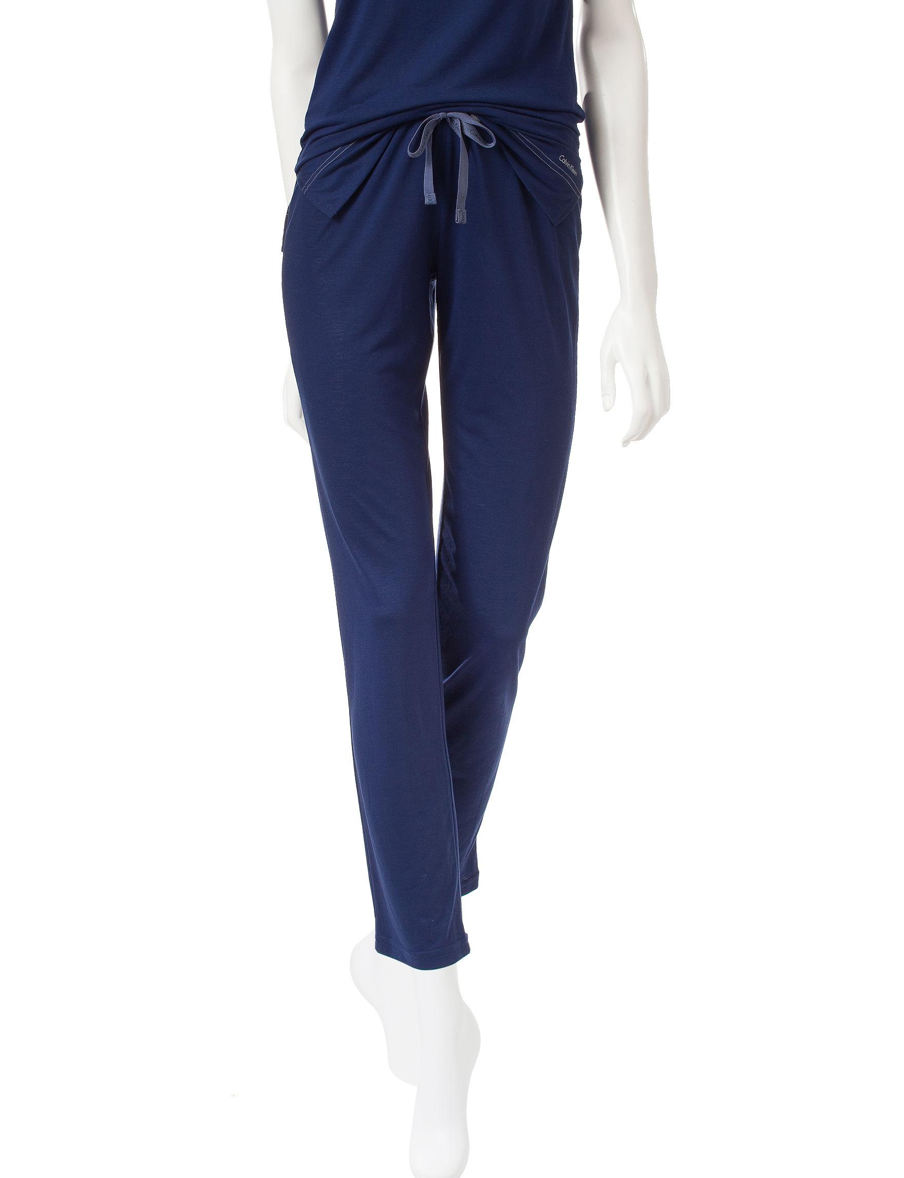 Calvin Klein Navy Pajama Bottoms