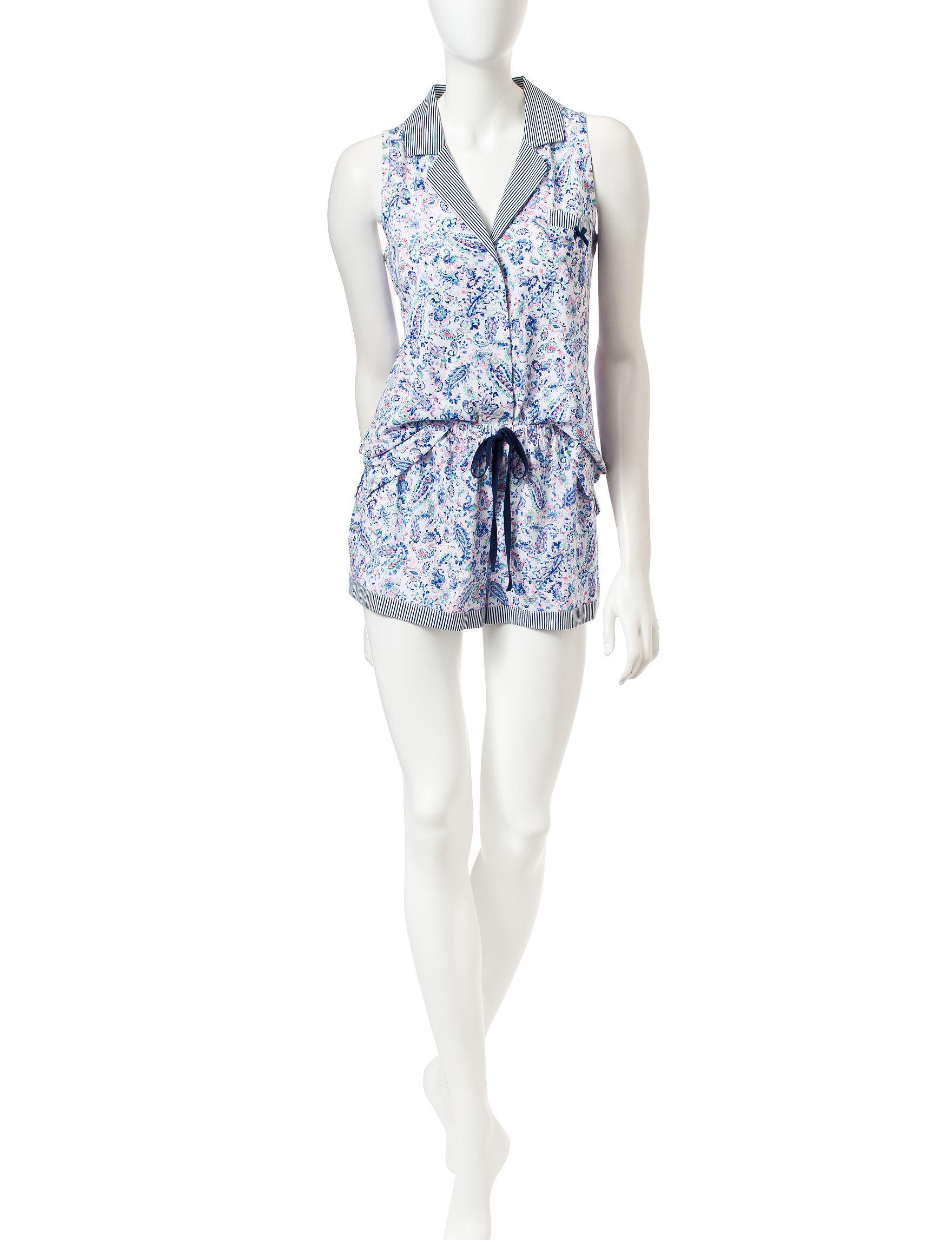 Laura Ashley Paisley Pajama Sets