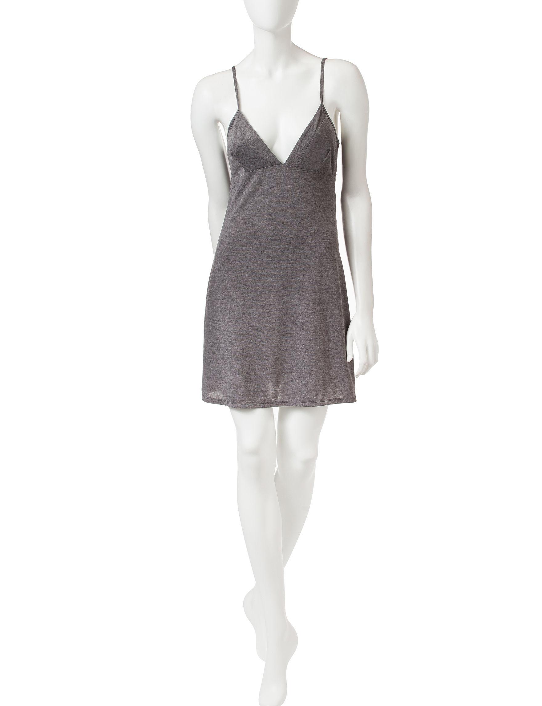 Calvin Klein Heather Grey Nightgowns & Sleep Shirts