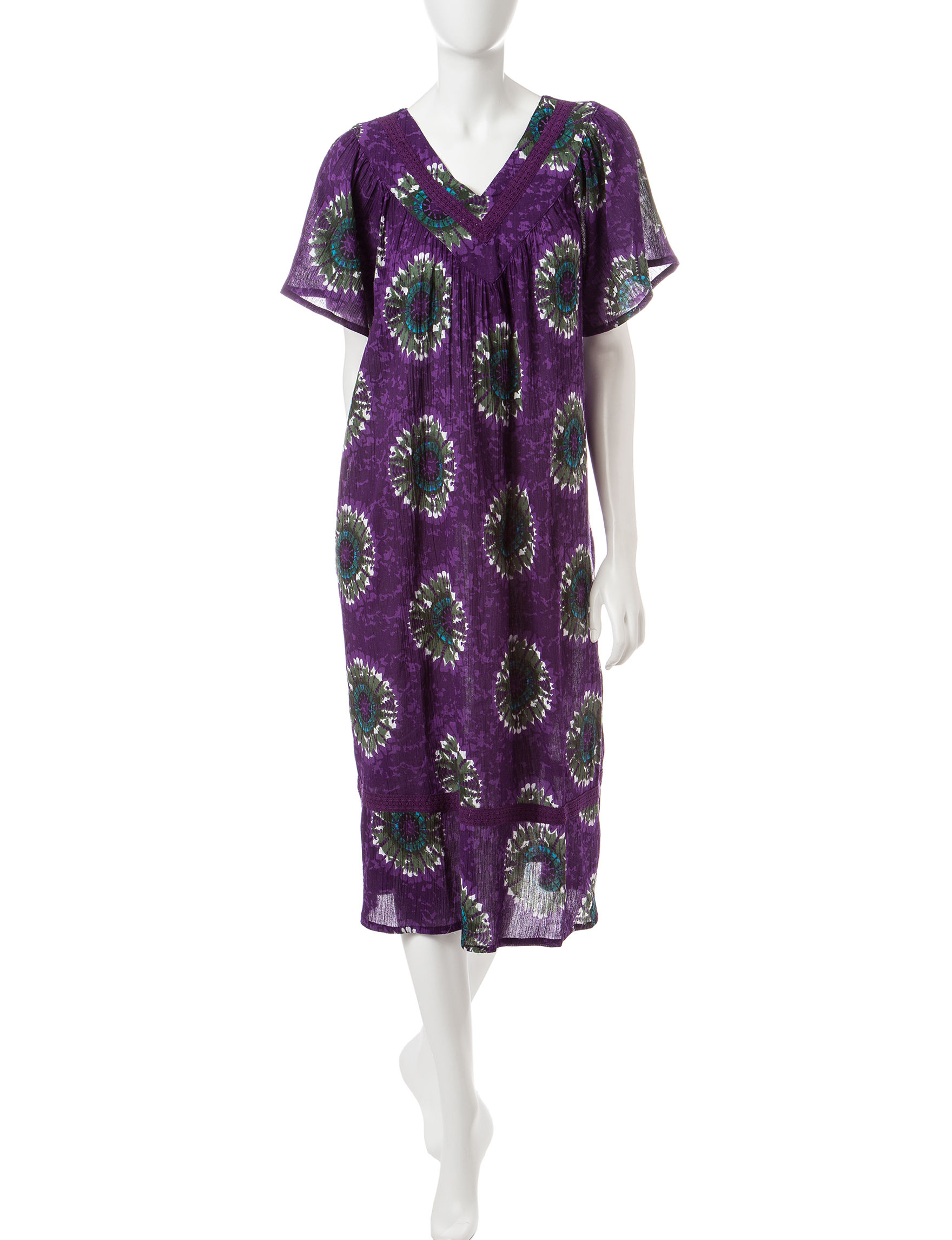 Loungees Purple House Dresses