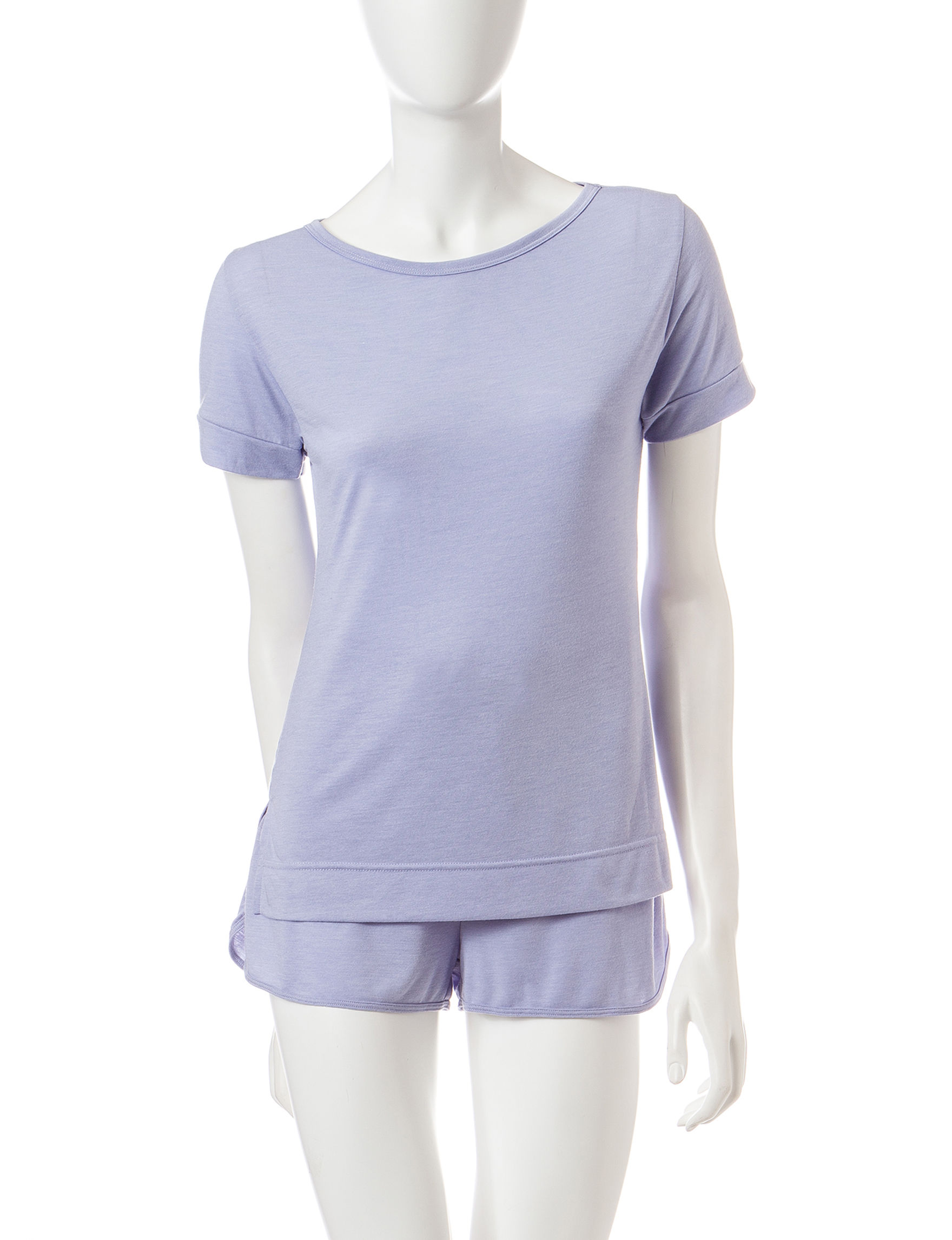 Calvin Klein Purple Pajama Tops