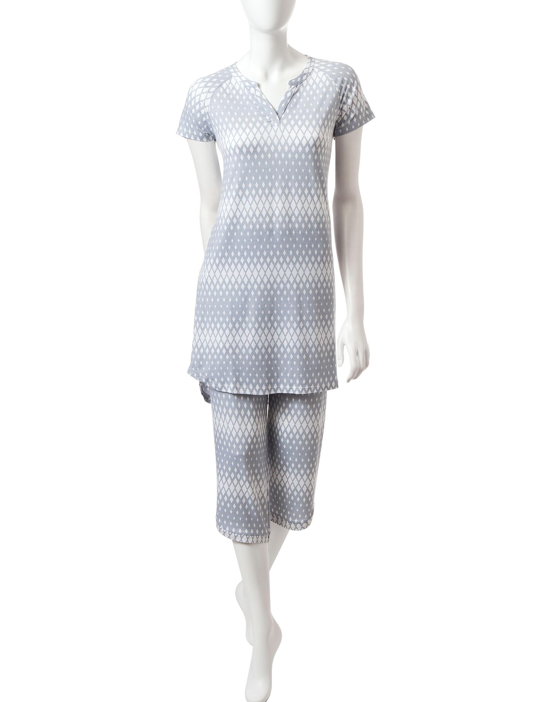 Cool Girl Grey Nightgowns & Sleep Shirts