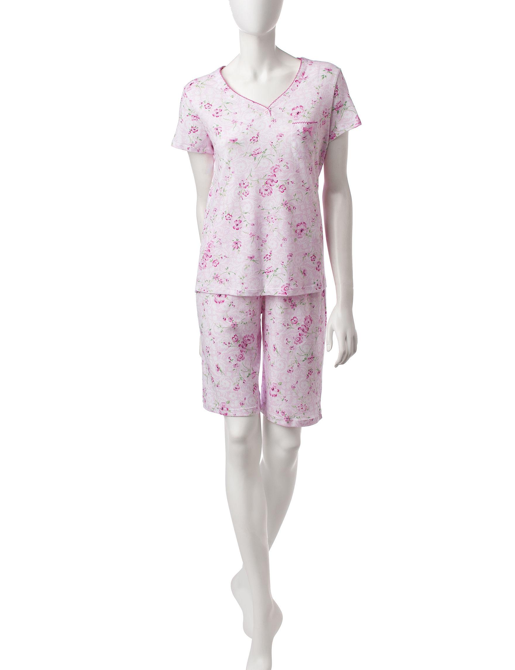 Karen Neuburger Pink Pajama Sets