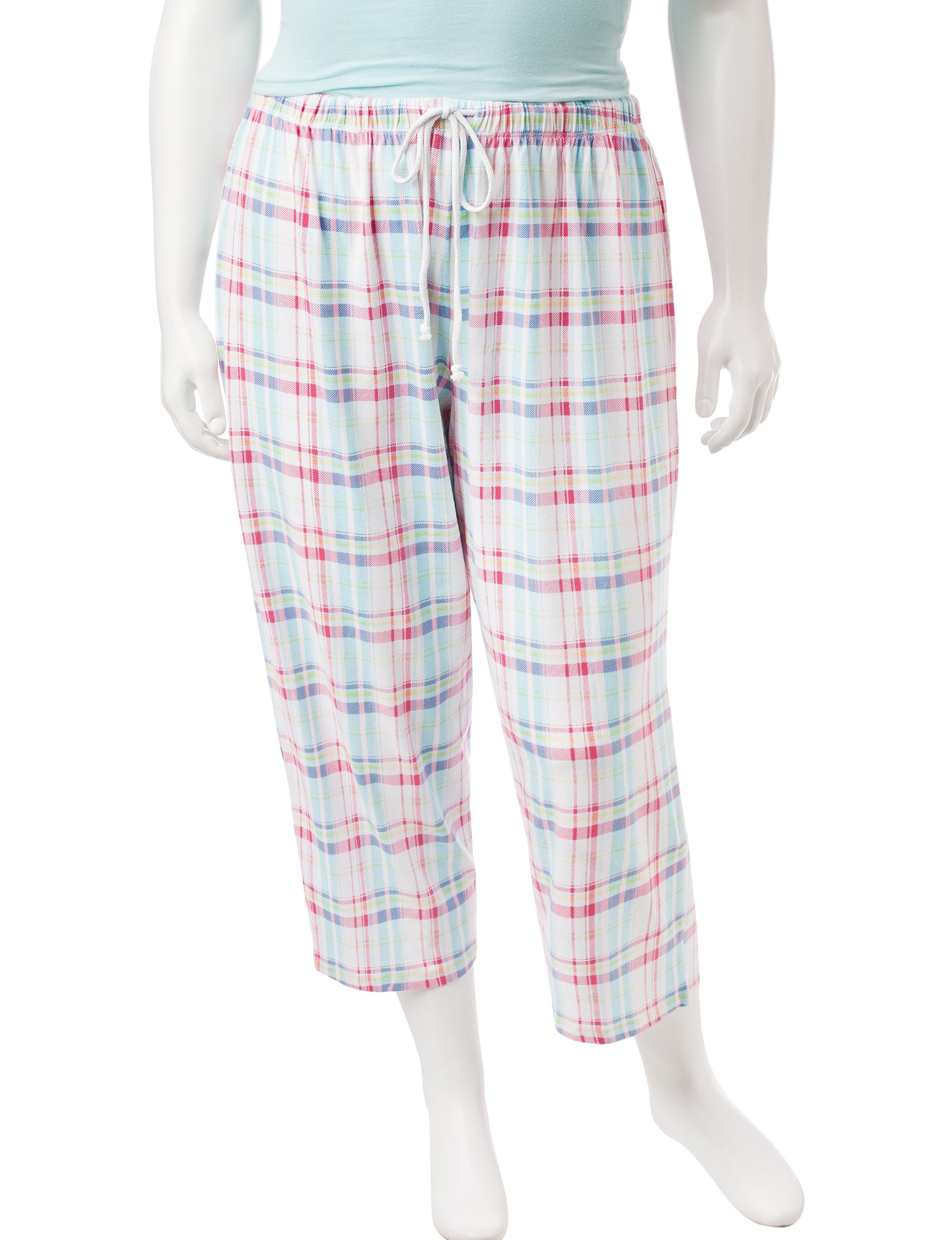 Jockey White / Black Pajama Bottoms