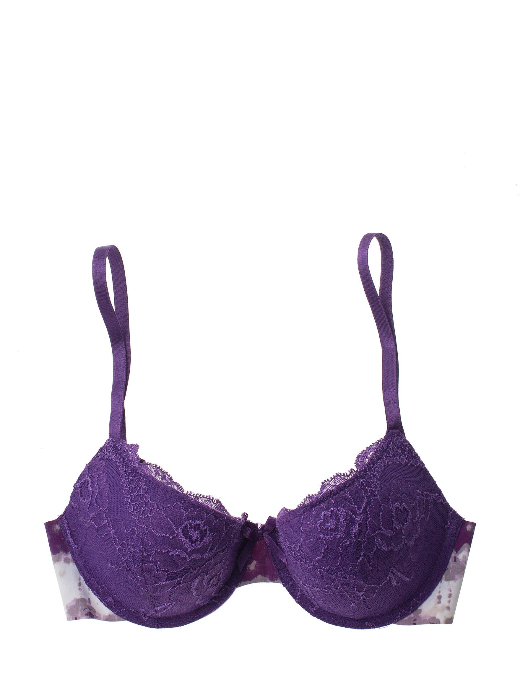 Rene Rofe Purple Bras Tshirt Bra