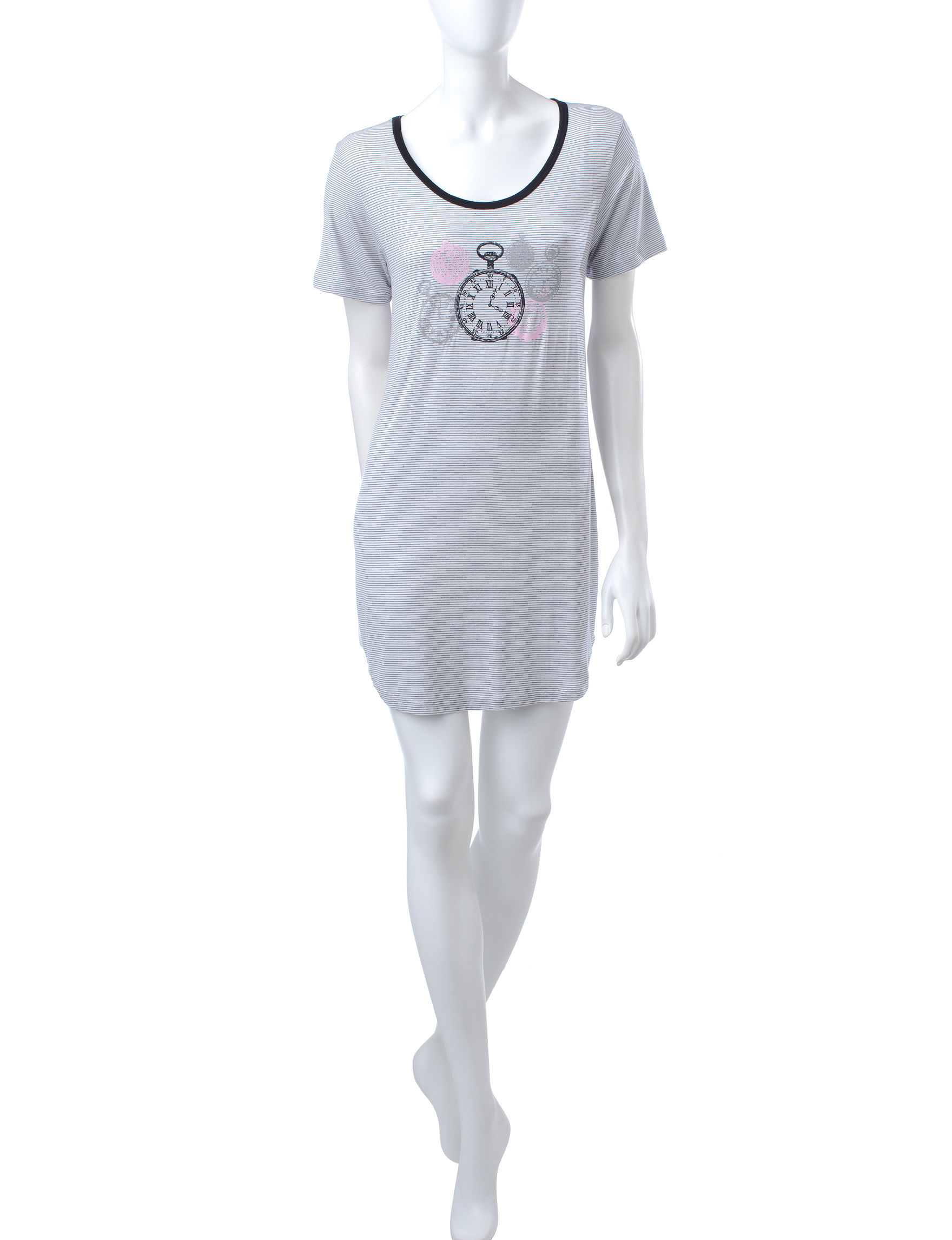 Laura Ashley Black / White Nightgowns & Sleep Shirts