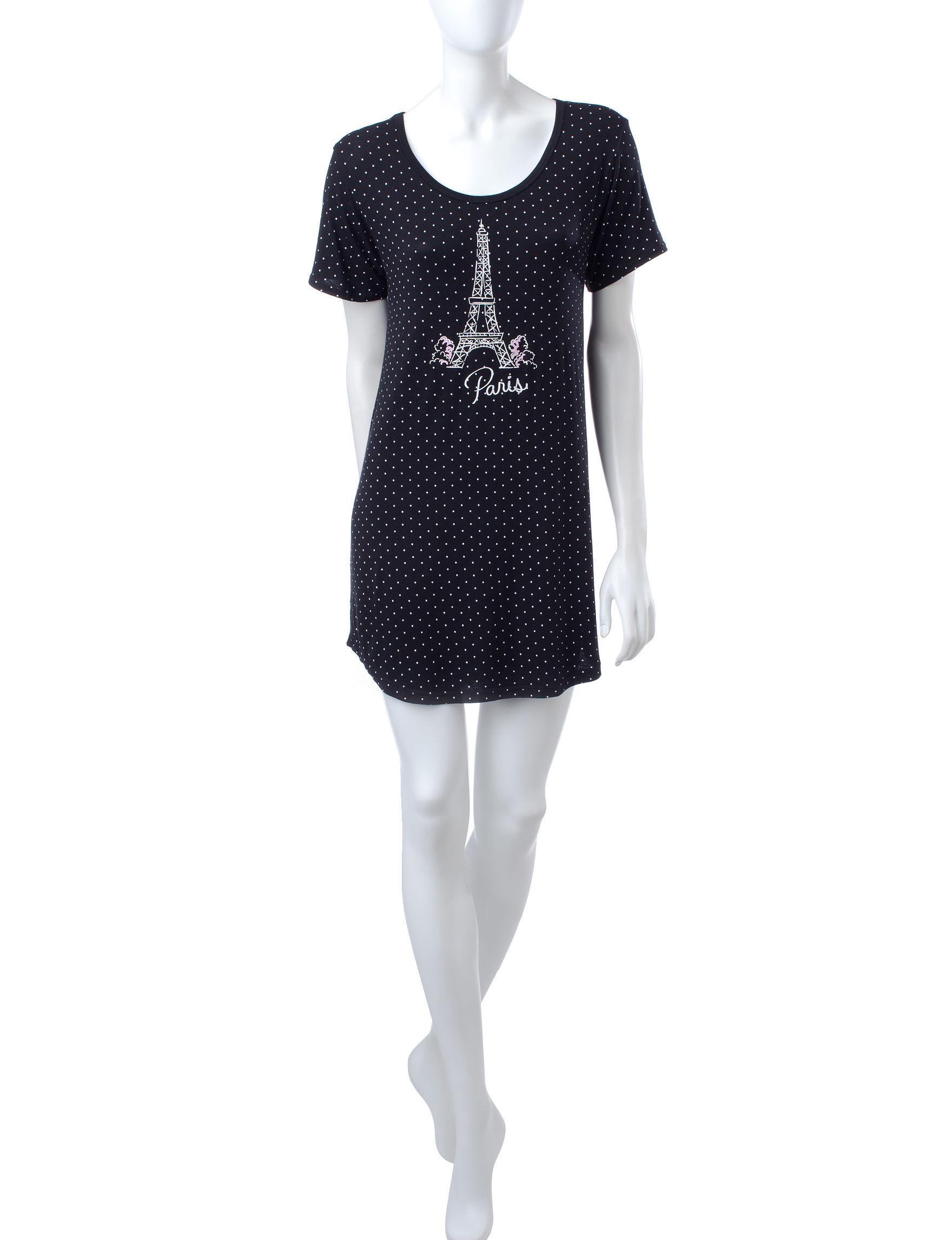 Laura Ashley Black Nightgowns & Sleep Shirts