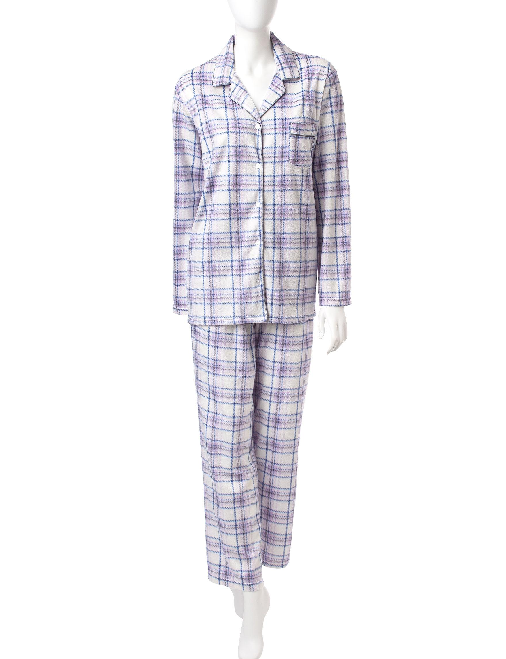 Hannah Purple Pajama Sets