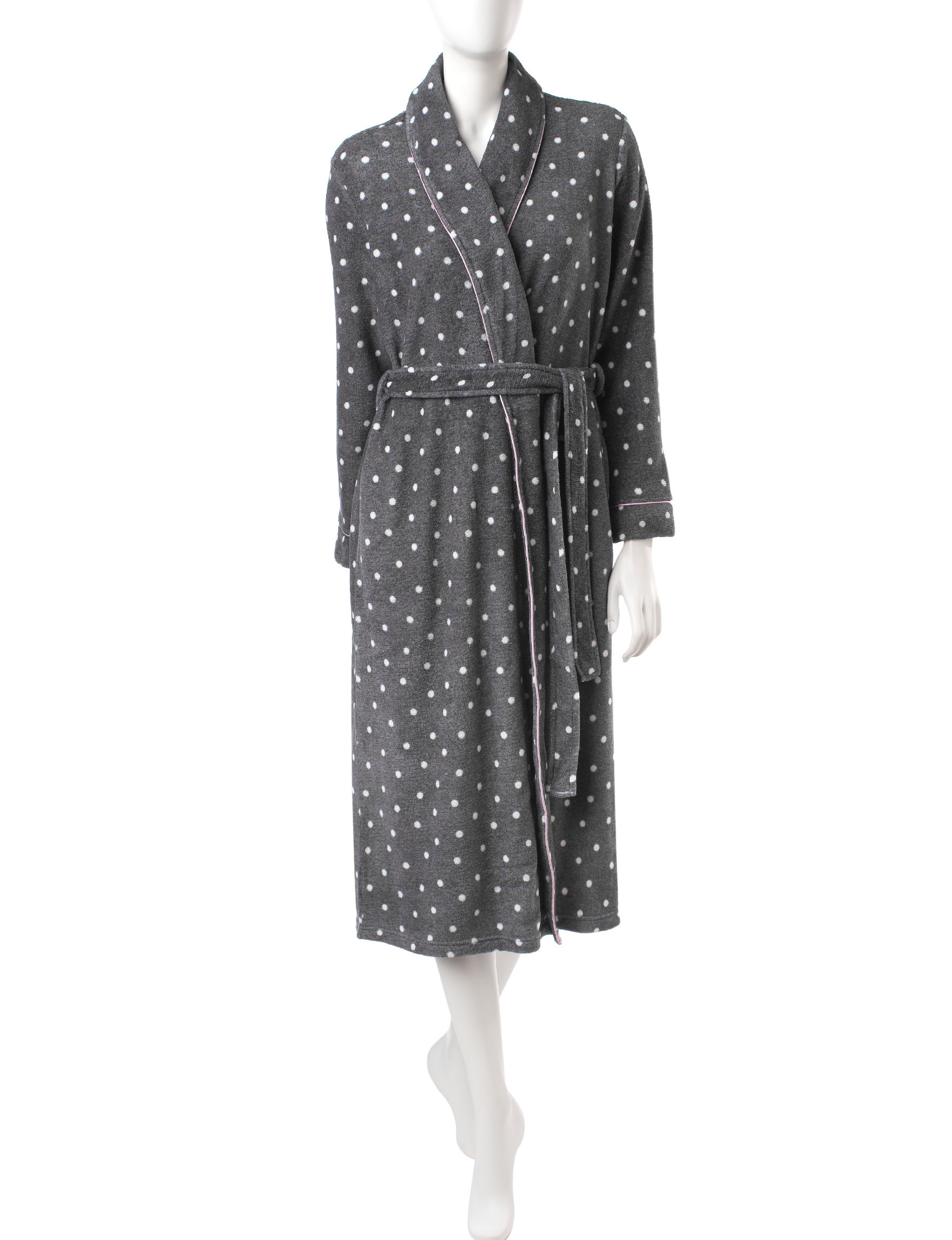 Laura Ashley Grey Multi Robes, Wraps & Dusters